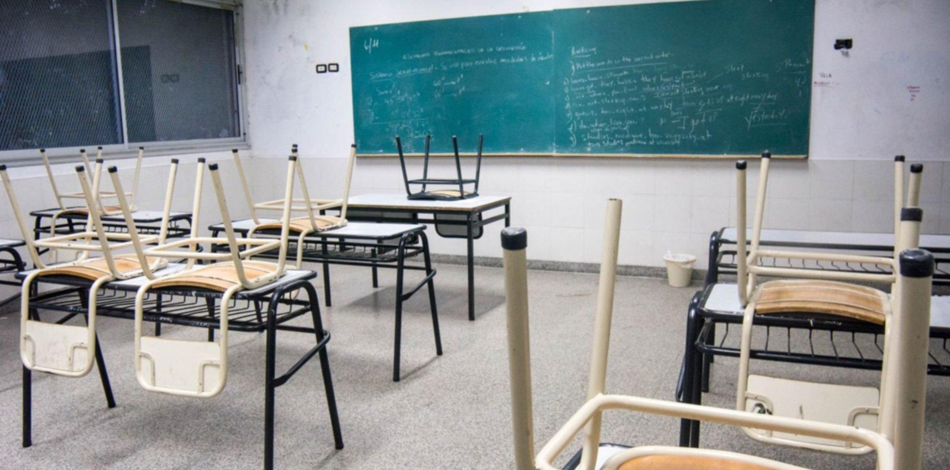 Suspenden las clases en un colegio de La Plata hasta el 25 de abril