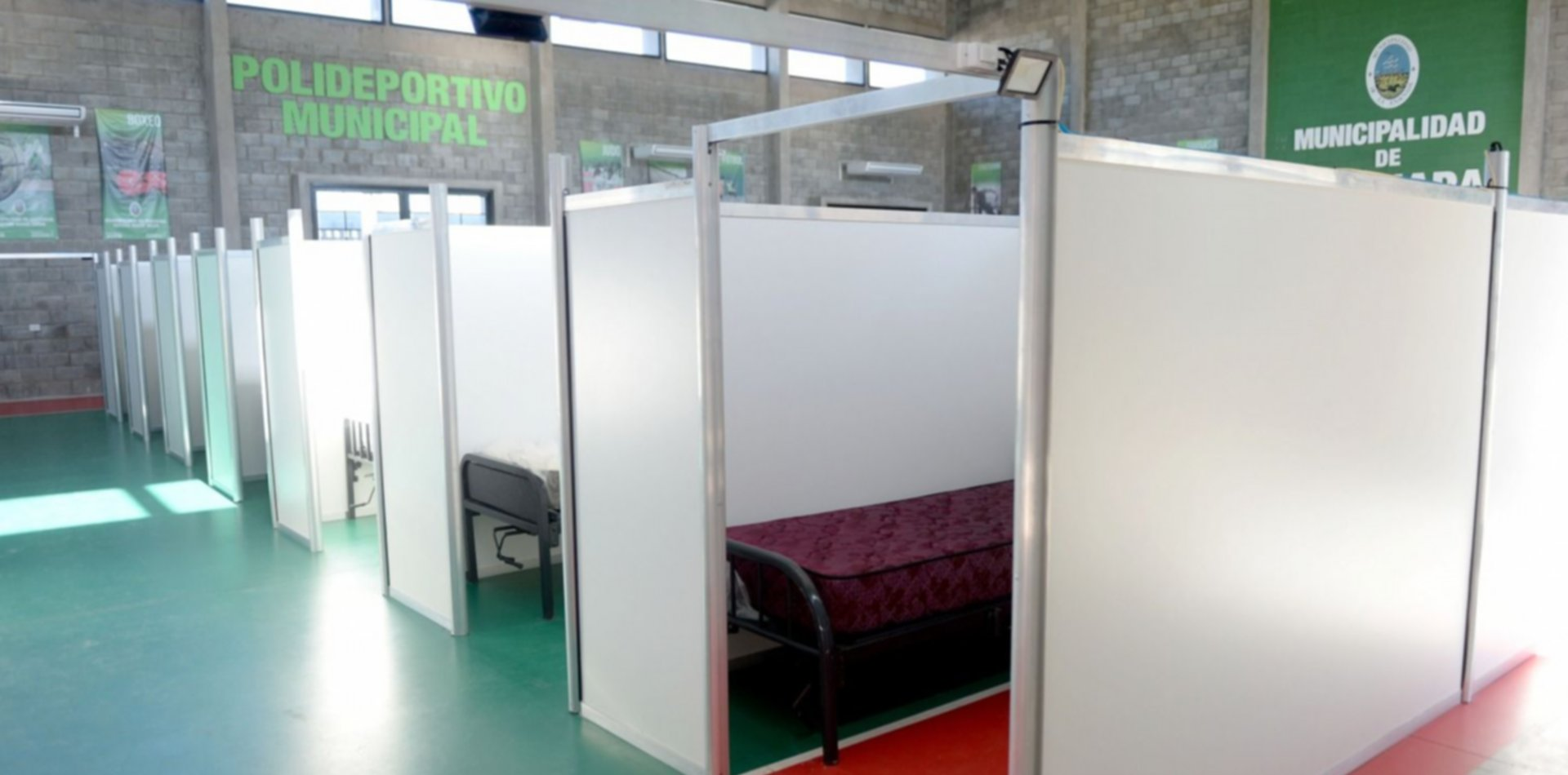 Producción de oxígeno y 48 plazas: así es el nuevo hospital de campaña de Ensenada