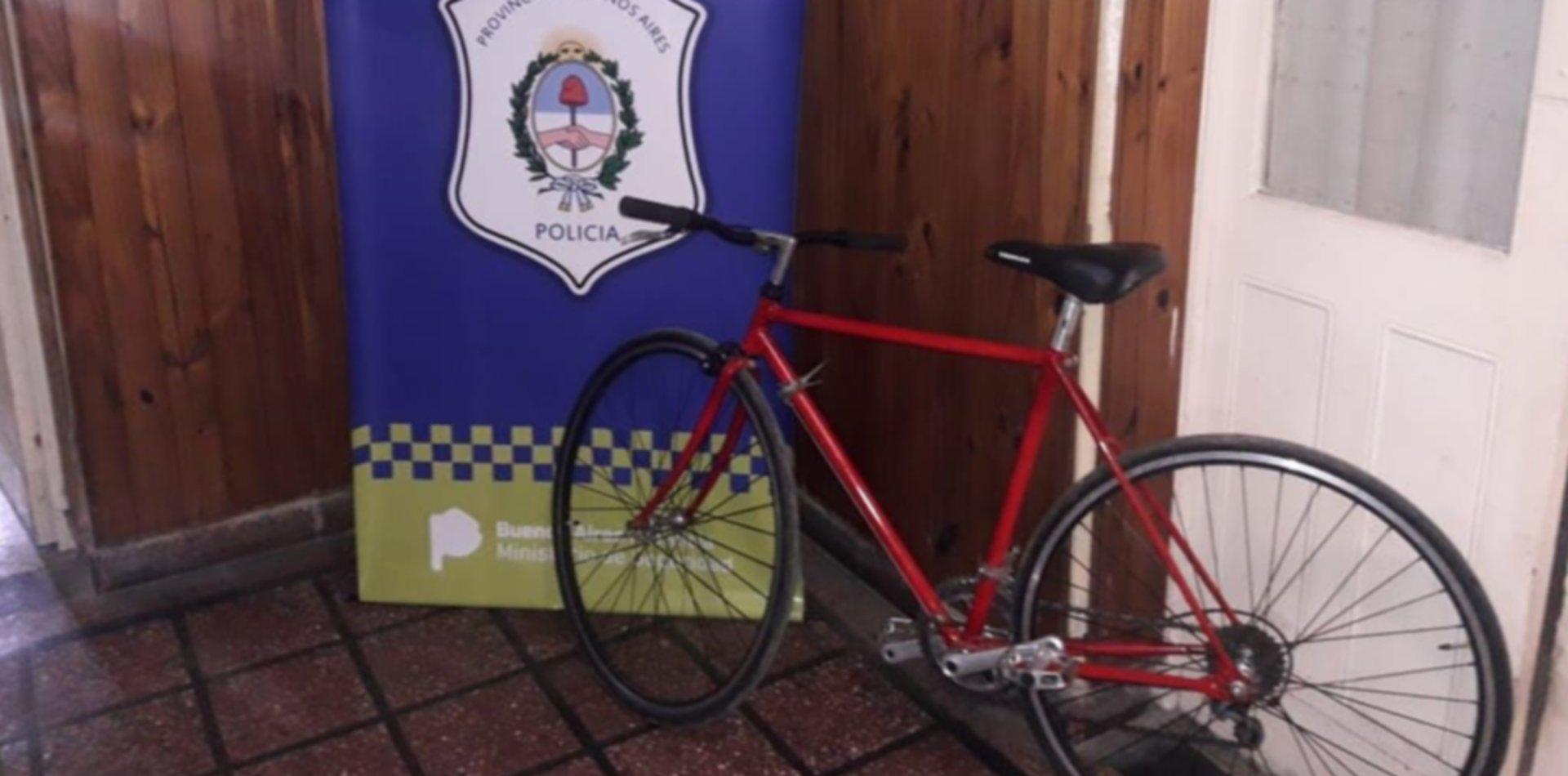 Robó una bicicleta en Tolosa y lo atraparon queriendo venderla en Internet