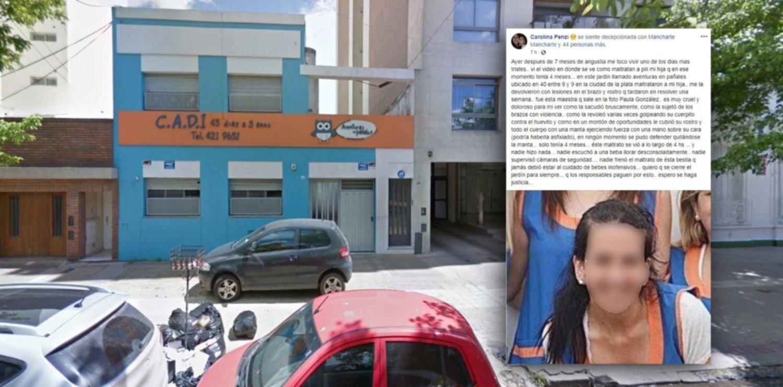 Denuncian a una maestra por el brutal ataque a una beba en un jardín maternal de La Plata