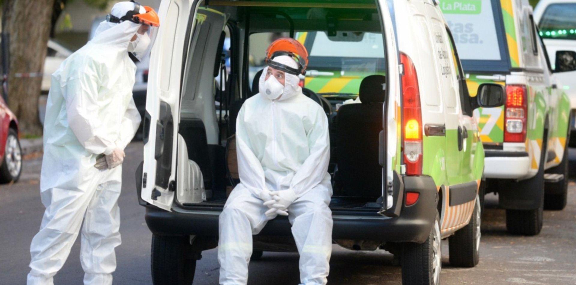 Nueva muerte por coronavirus en La Plata y ya son 6 los fallecidos