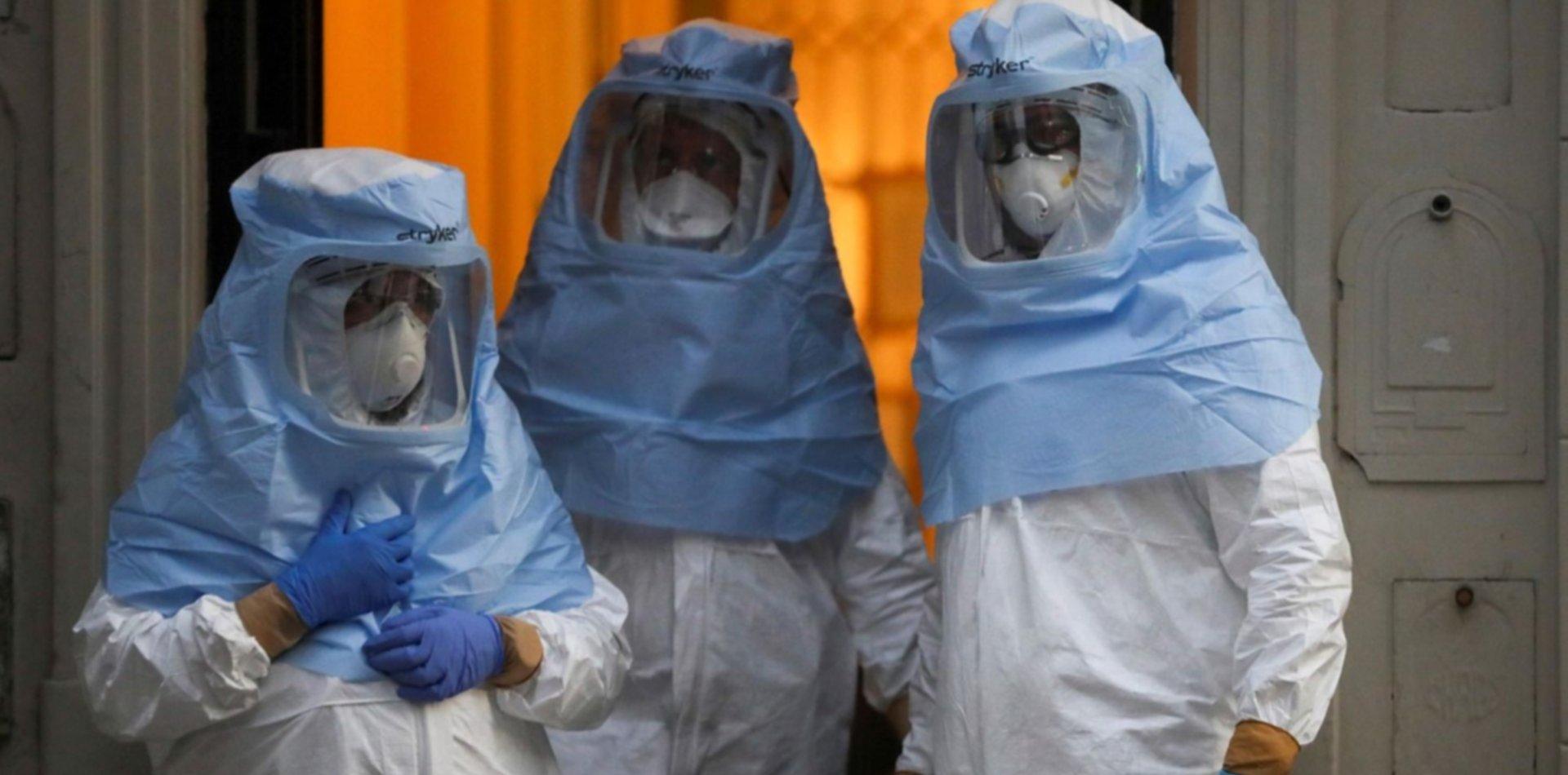 Con otras 44 muertes, ya son 1.481 las víctimas fatales del coronavirus en Argentina