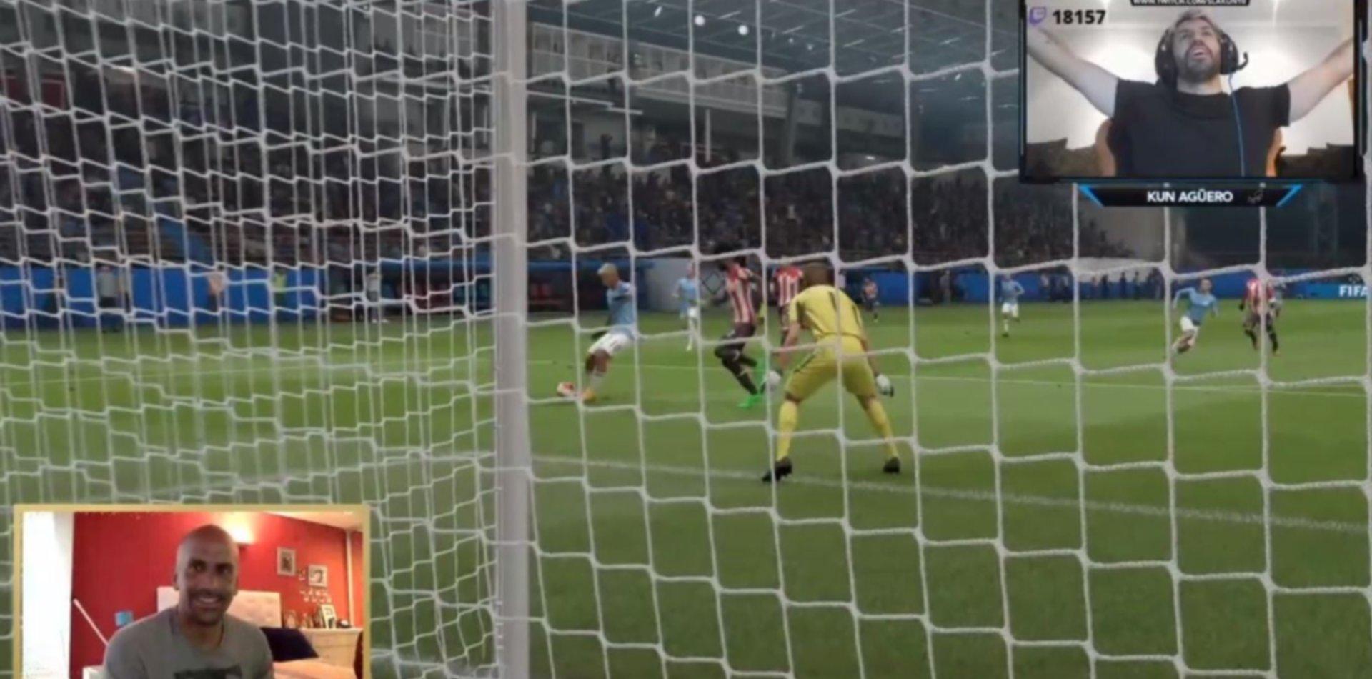 """El Kun Agüero derrotó al equipo de la Brujita en el desafío """"Rosa Melano"""""""