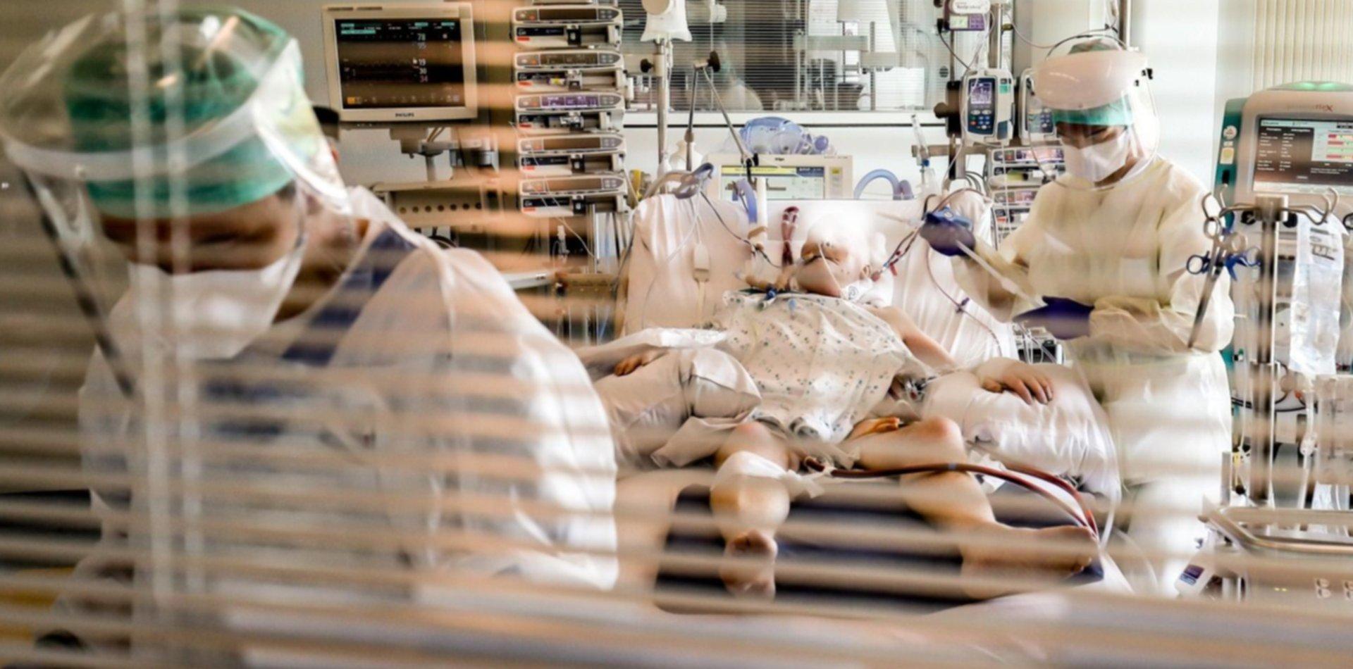 Confirmaron 429 muertes por coronavirus en Argentina en un solo día