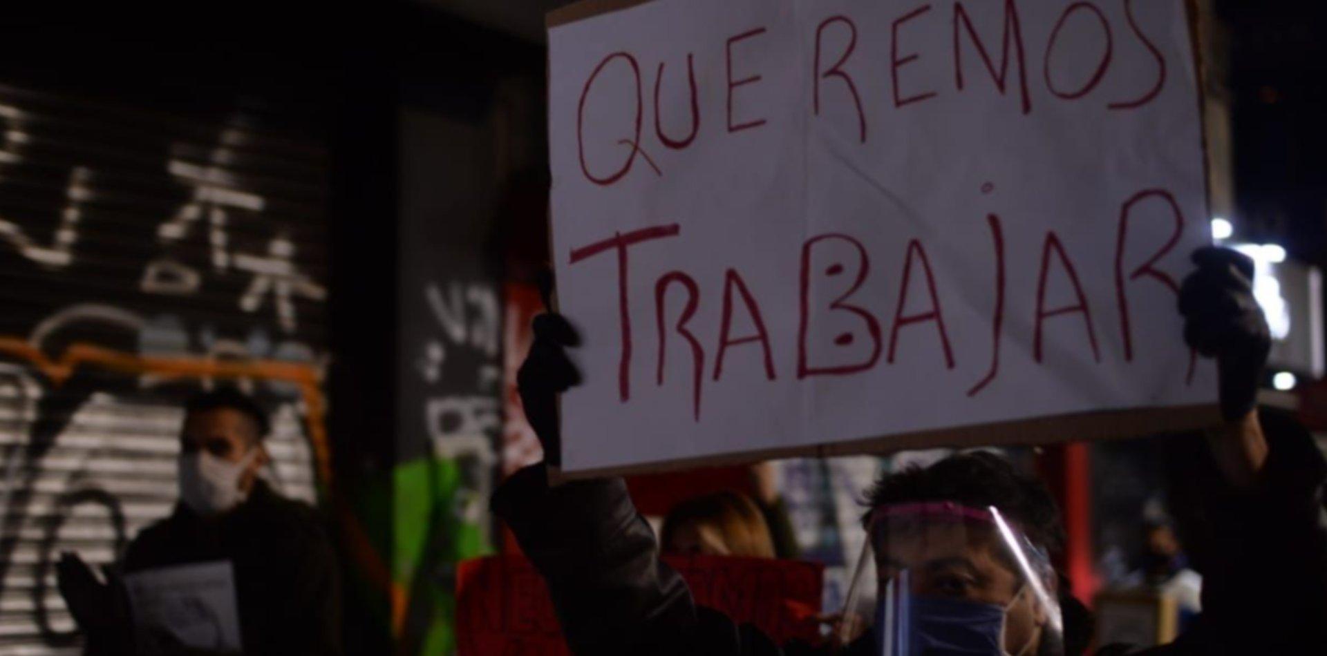 Peluqueros y comerciantes de La Plata pidieron volver a trabajar en medio de la cuarentena