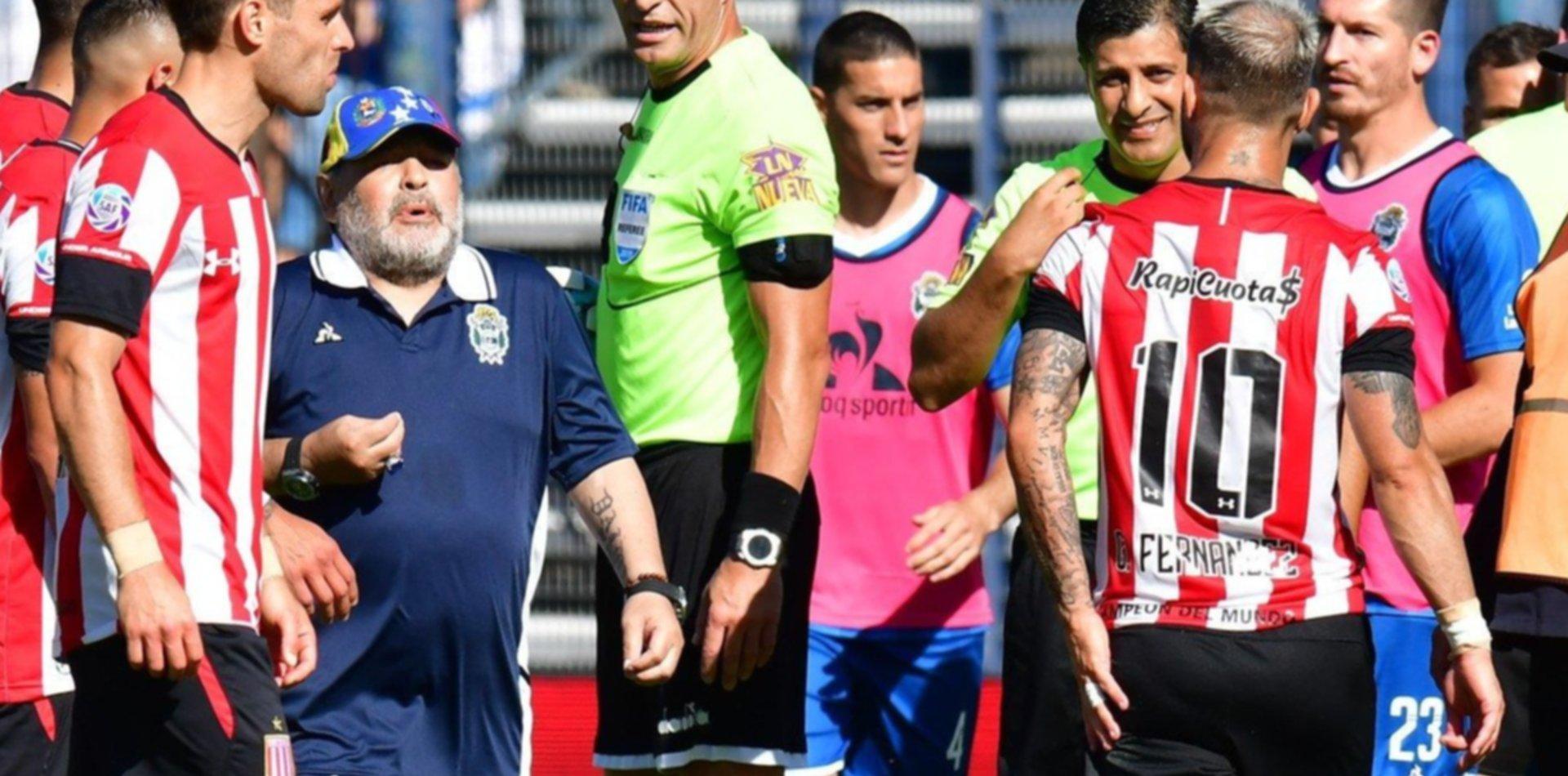 ¿La Gata Fernández le pidió perdón a Maradona?