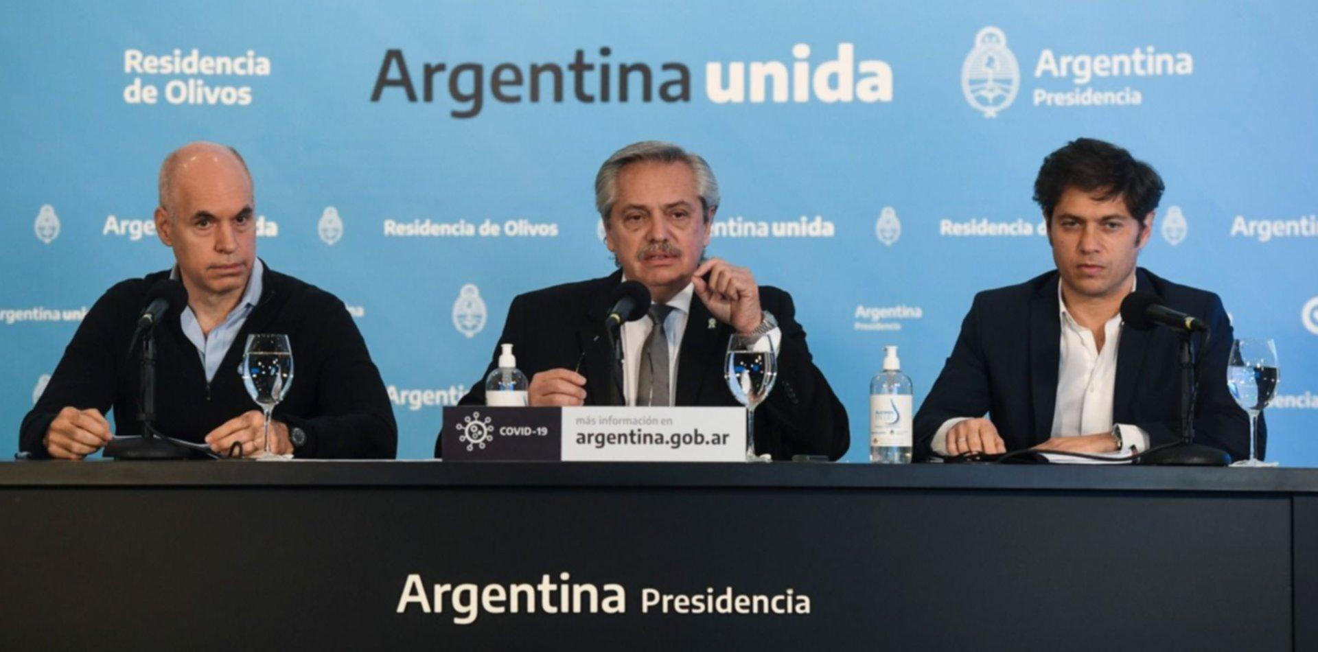 Alberto Fernández extendió la cuarentena y seguirá sin cambios en el AMBA y La Plata