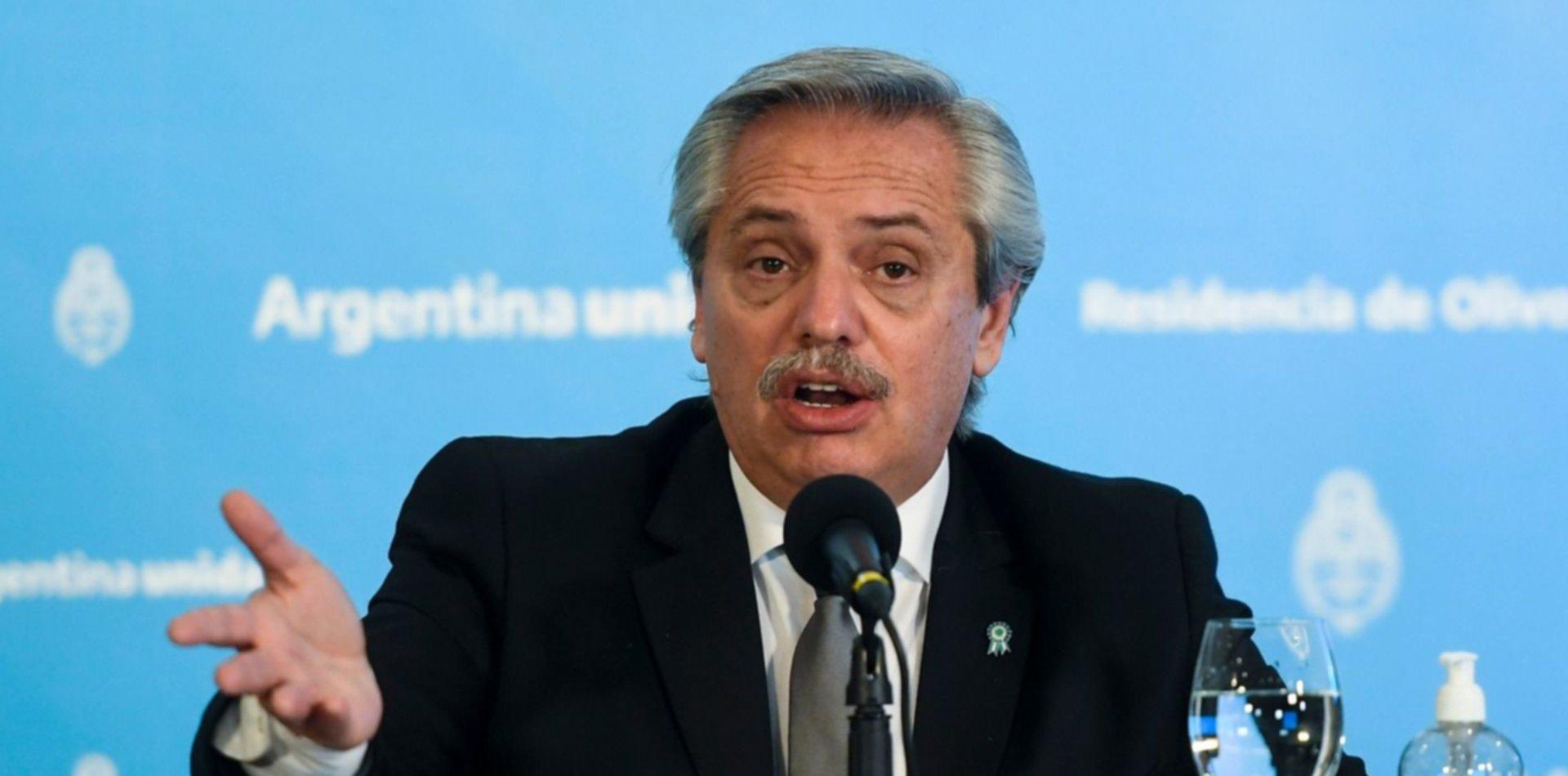 Alberto Fernández anunció que Argentina producirá una vacuna contra el coronavirus