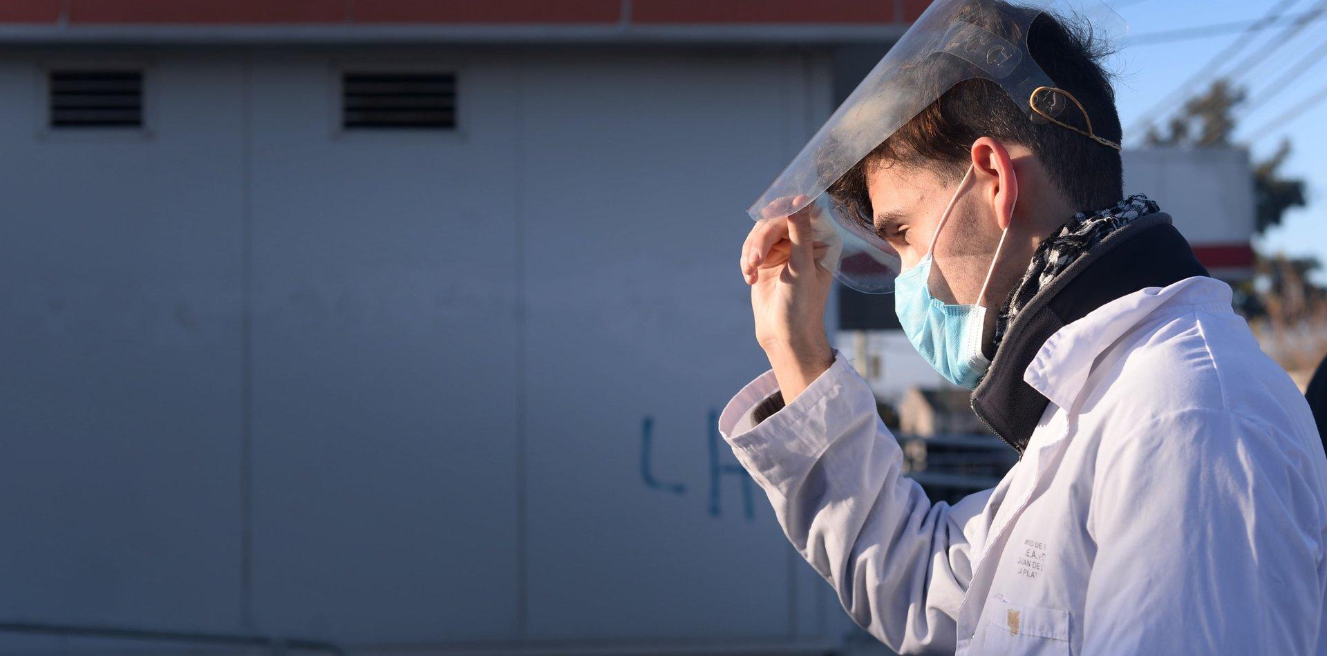 Confirmaron otra muerte por coronavirus en La Plata