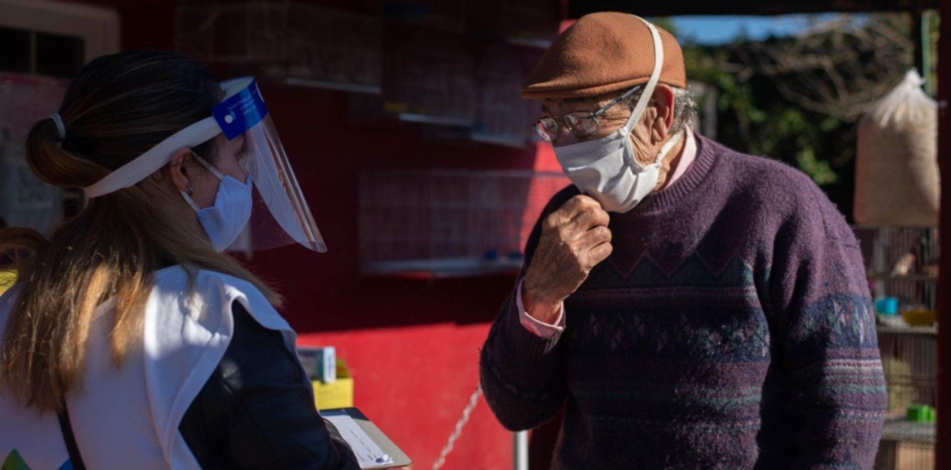 Aumentan los casos de COVID-19 en La Plata y así avanza la pandemia