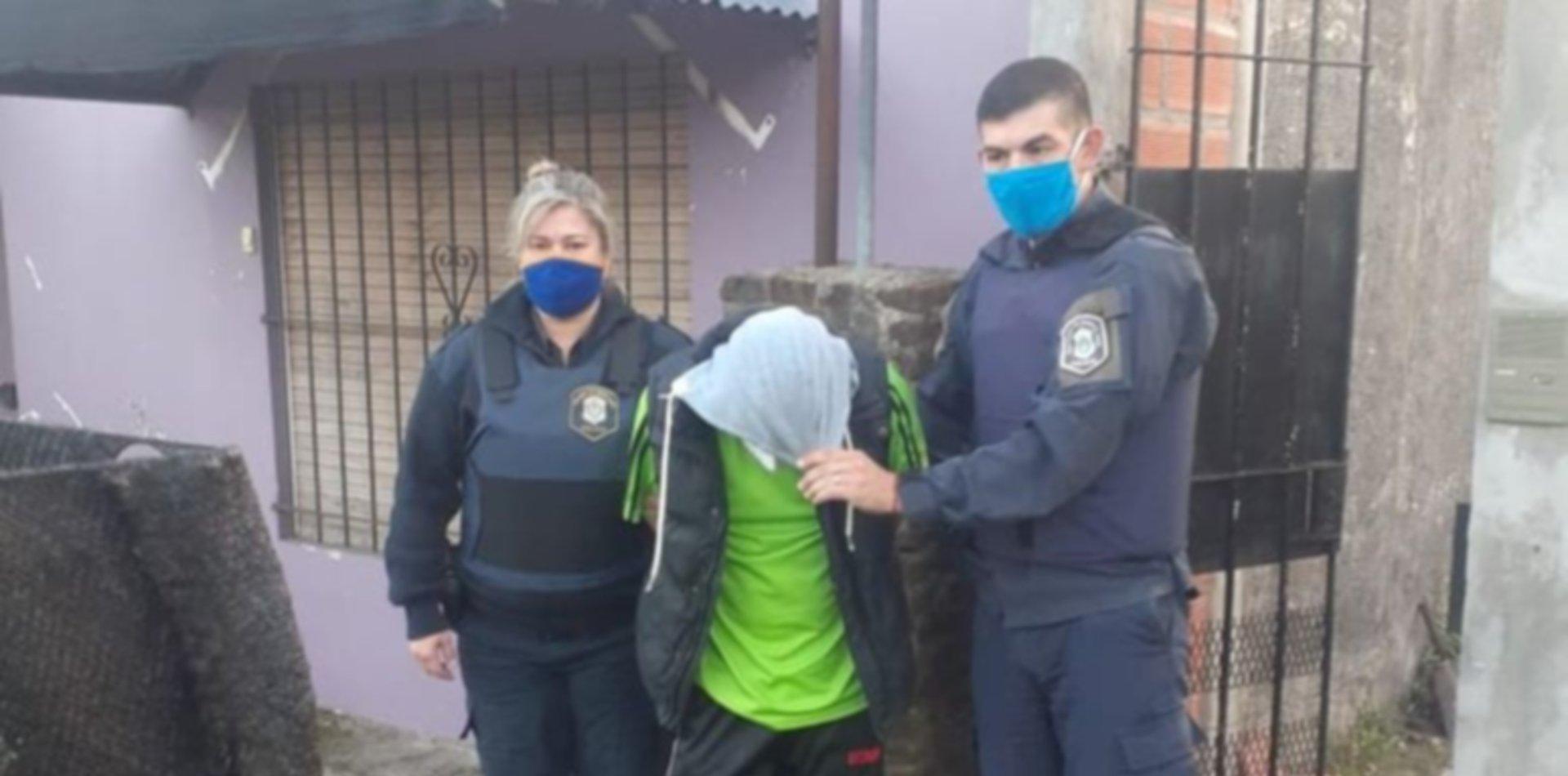 VIDEO: Así detuvieron al presunto asesino de un joven en La Plata