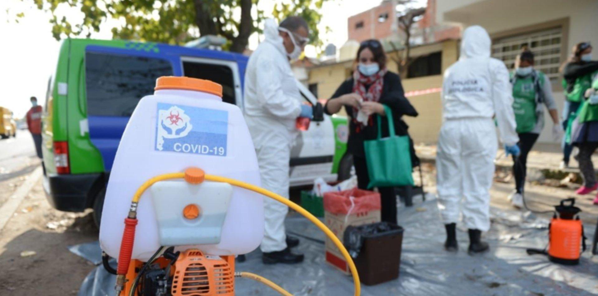 VIDEO: Así fue el operativo para testear a los vecinos en el barrio José Luis Cabezas