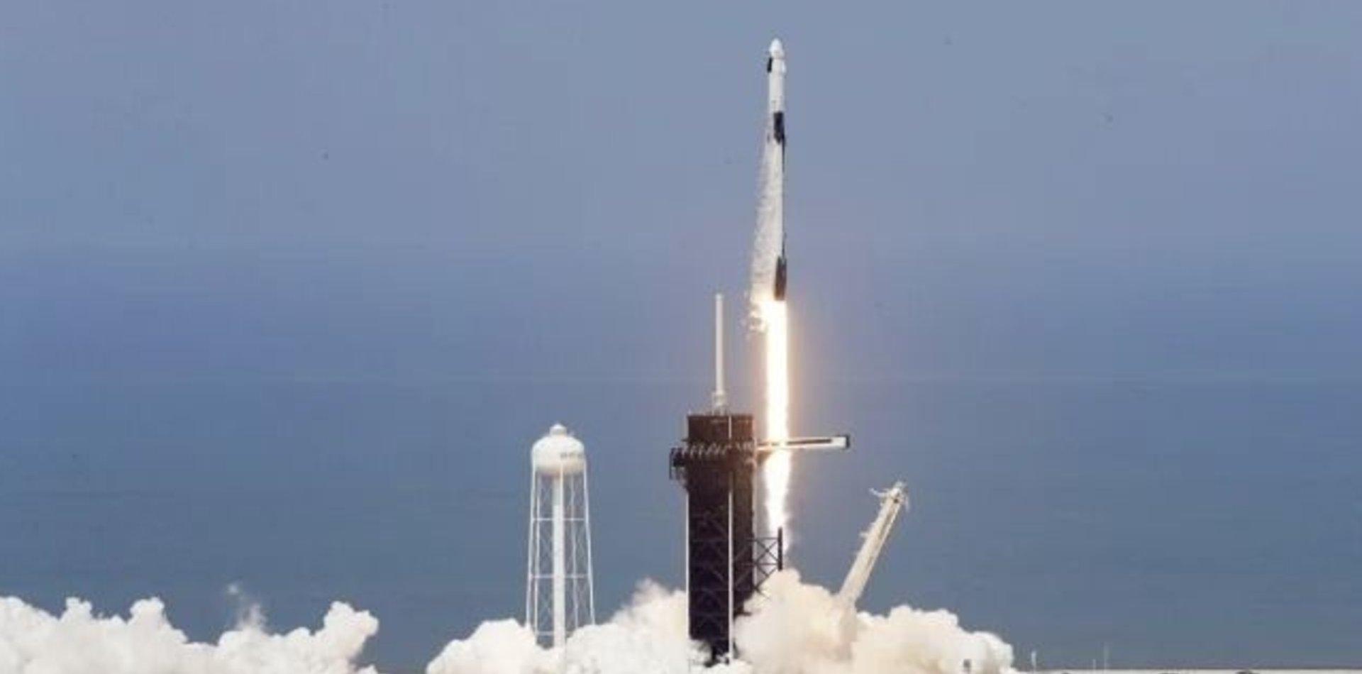 VIDEO: Así fue el lanzamiento histórico de la nave espacial de SpaceX y la NASA