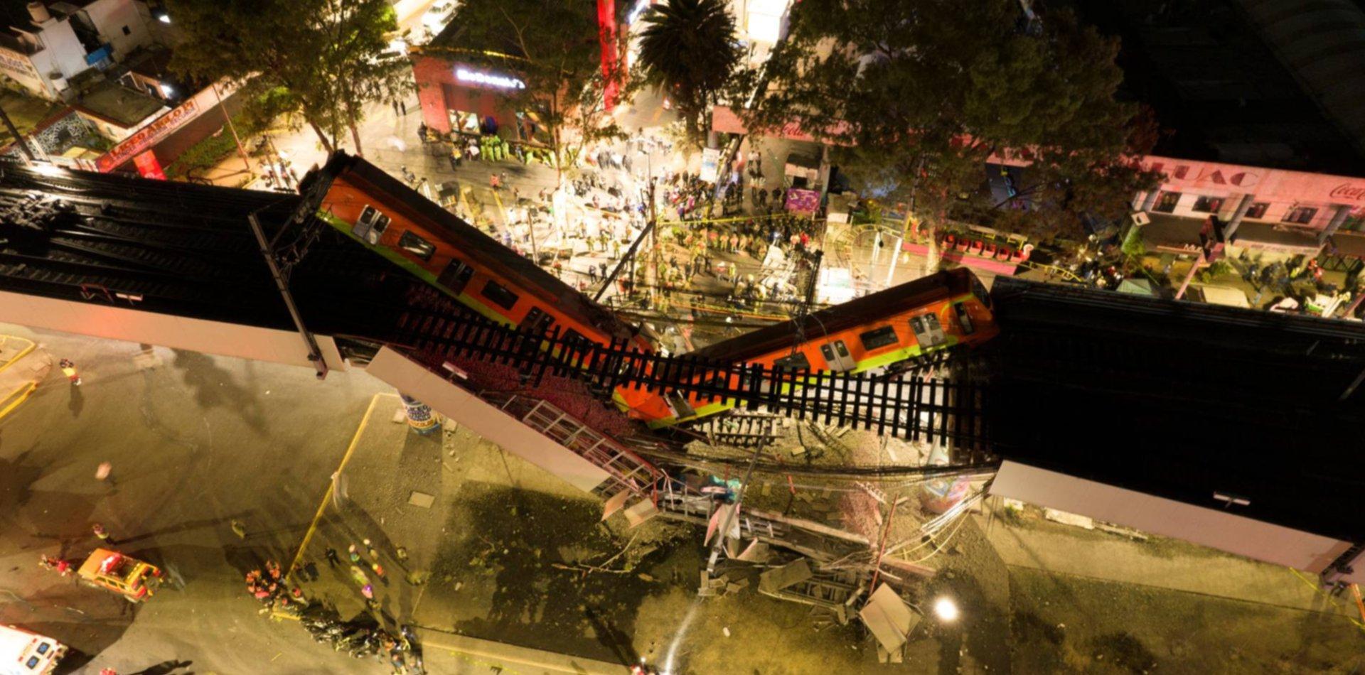 El dramático relato de un platense en medio de la tragedia del metro en México