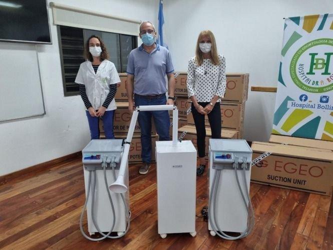 La Plata sumó equipos para bajar el riesgo de contagio durante la atención odontológica