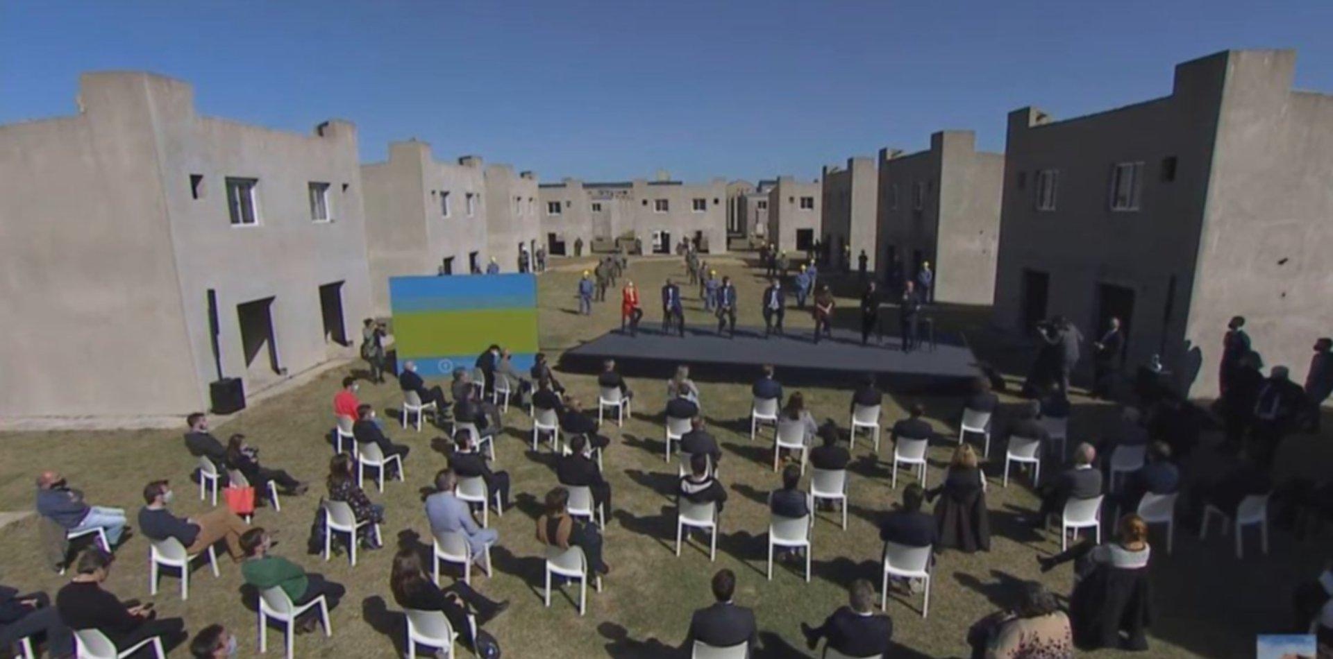 Alberto Fernández y Cristina Kirchner encabezan un acto en la región