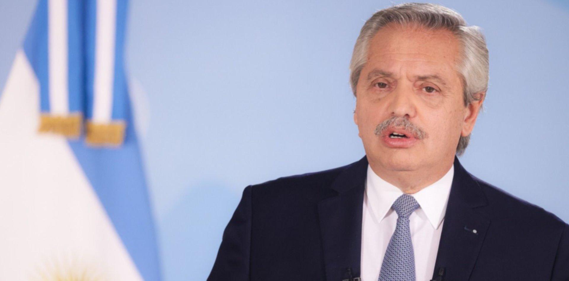 """Alberto Fernández envió una carta al INADI: """"Estoy orgulloso de nuestra diversidad"""""""