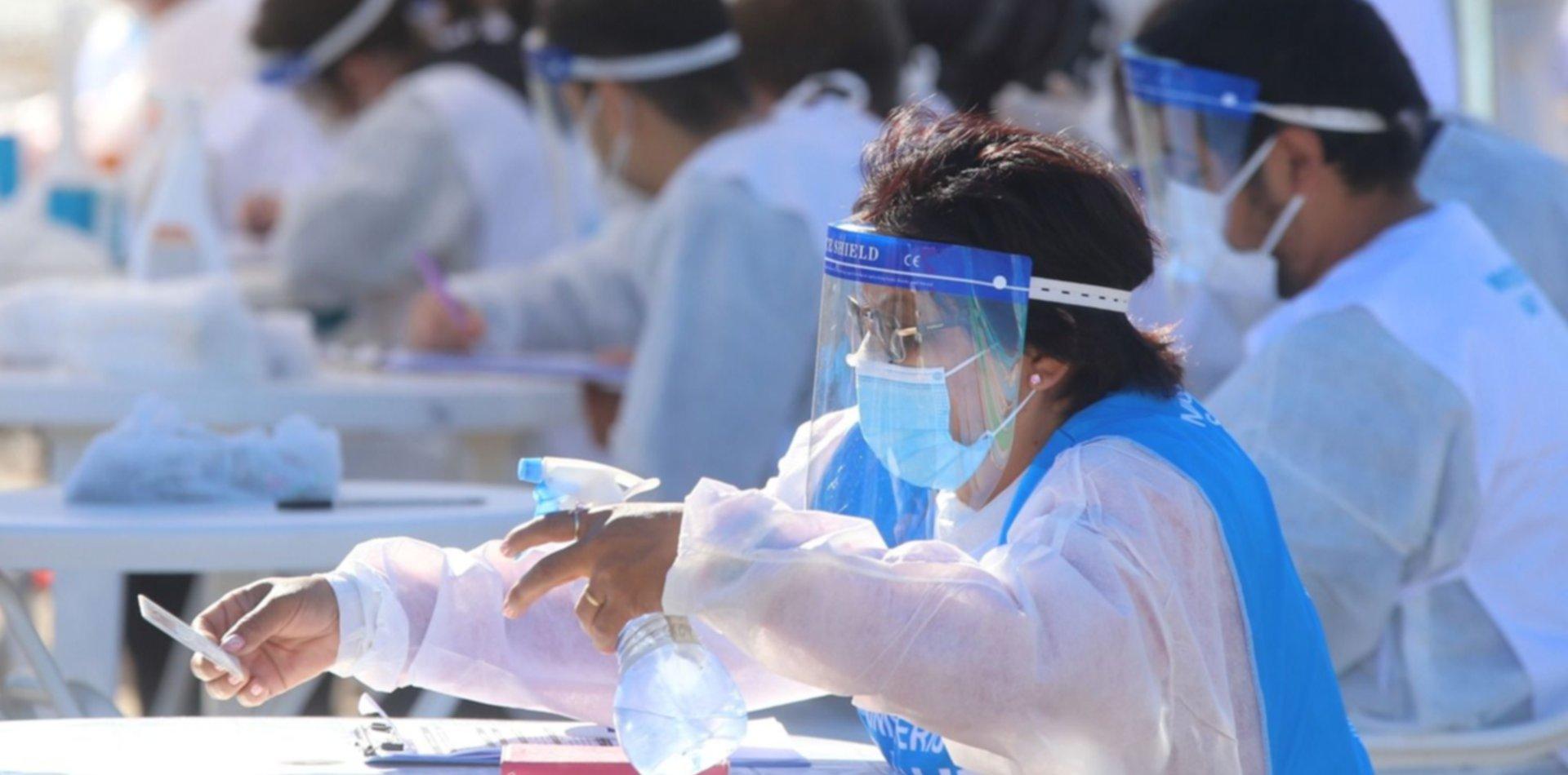 La Plata superó los 69.000 casos de COVID desde que comenzó la pandemia