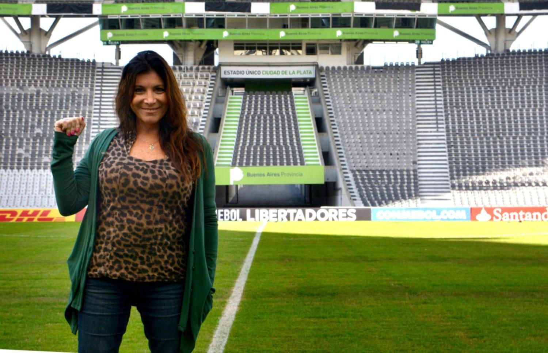 Platense y única en la historia: Viviana Vila, la mujer del Mundial   0221