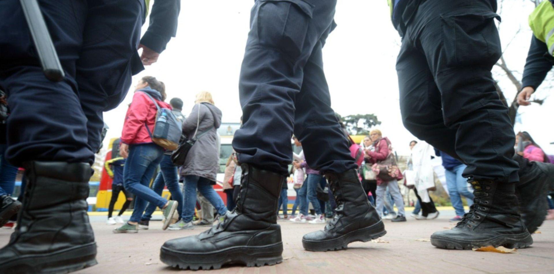 Operativo, tensión y protesta: sigue el conflicto por la venta ambulante en la ciudad