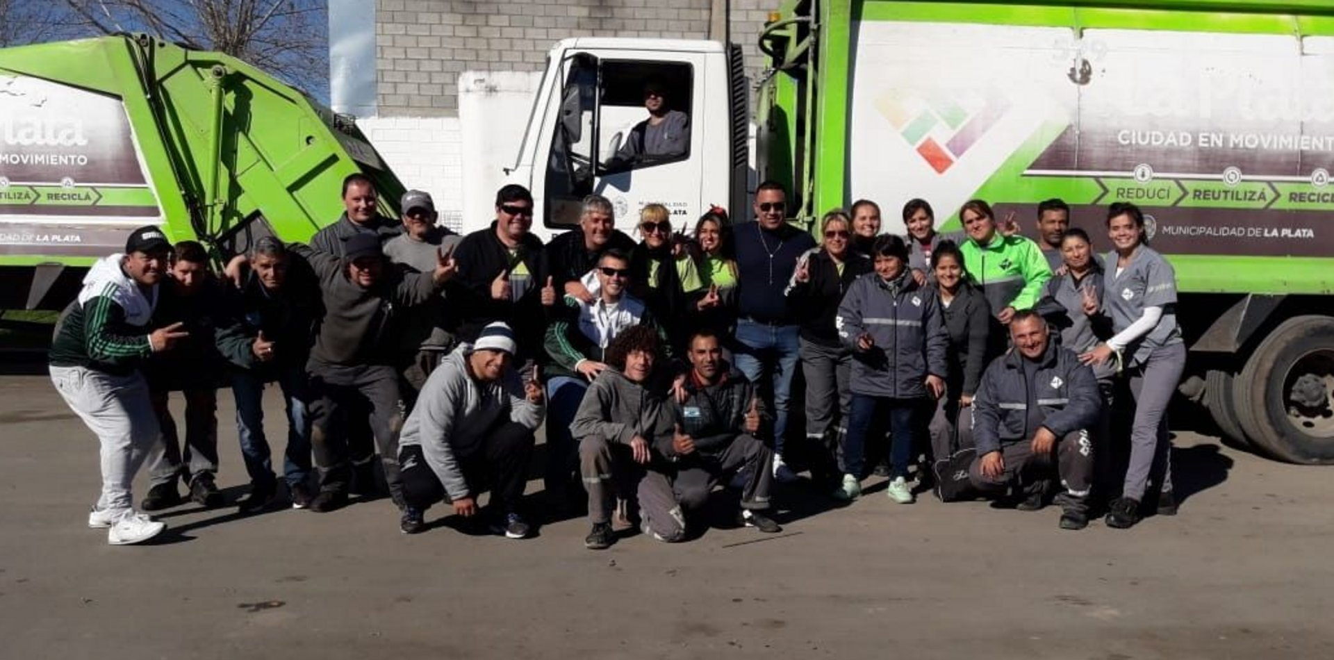 Por primera vez, habrá mujeres recolectoras de residuos en La Plata