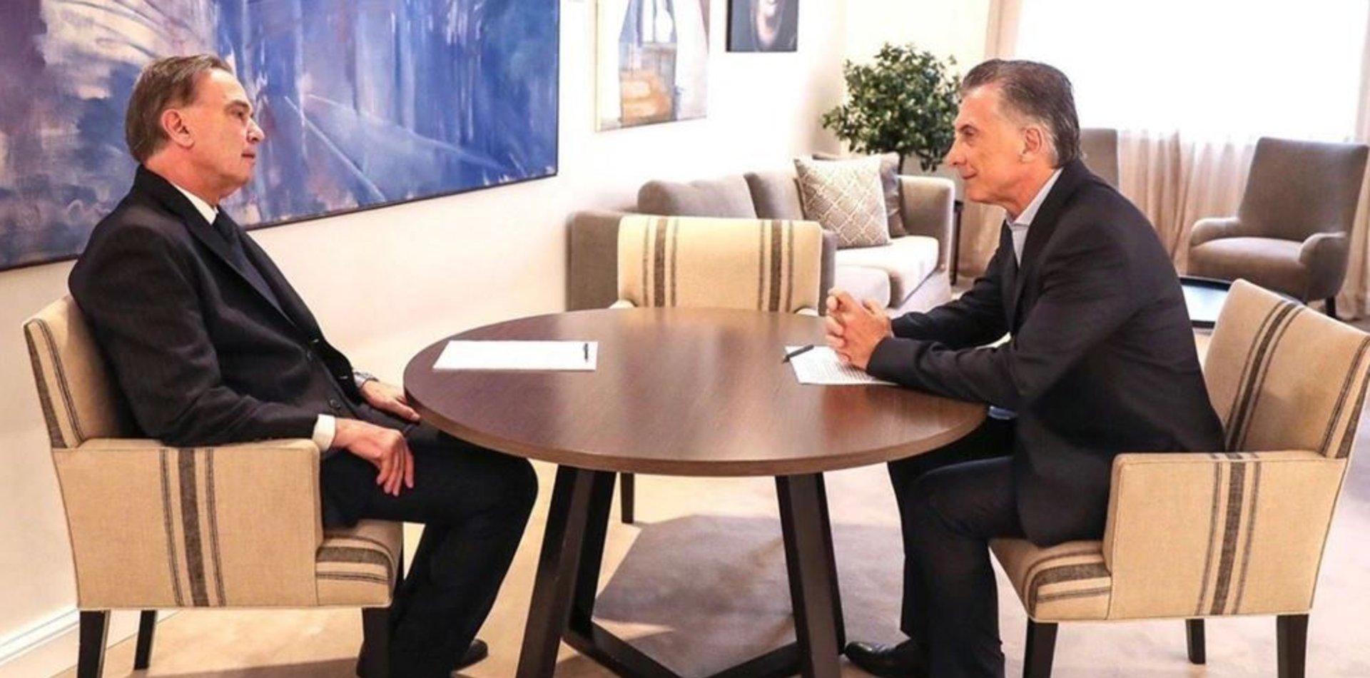 Miguel Ángel Pichetto será el compañero de fórmula de Mauricio Macri en Cambiemos