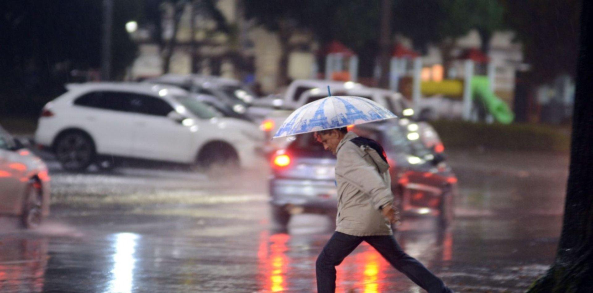 Alerta por más tormentas, ráfagas y caída de granizo