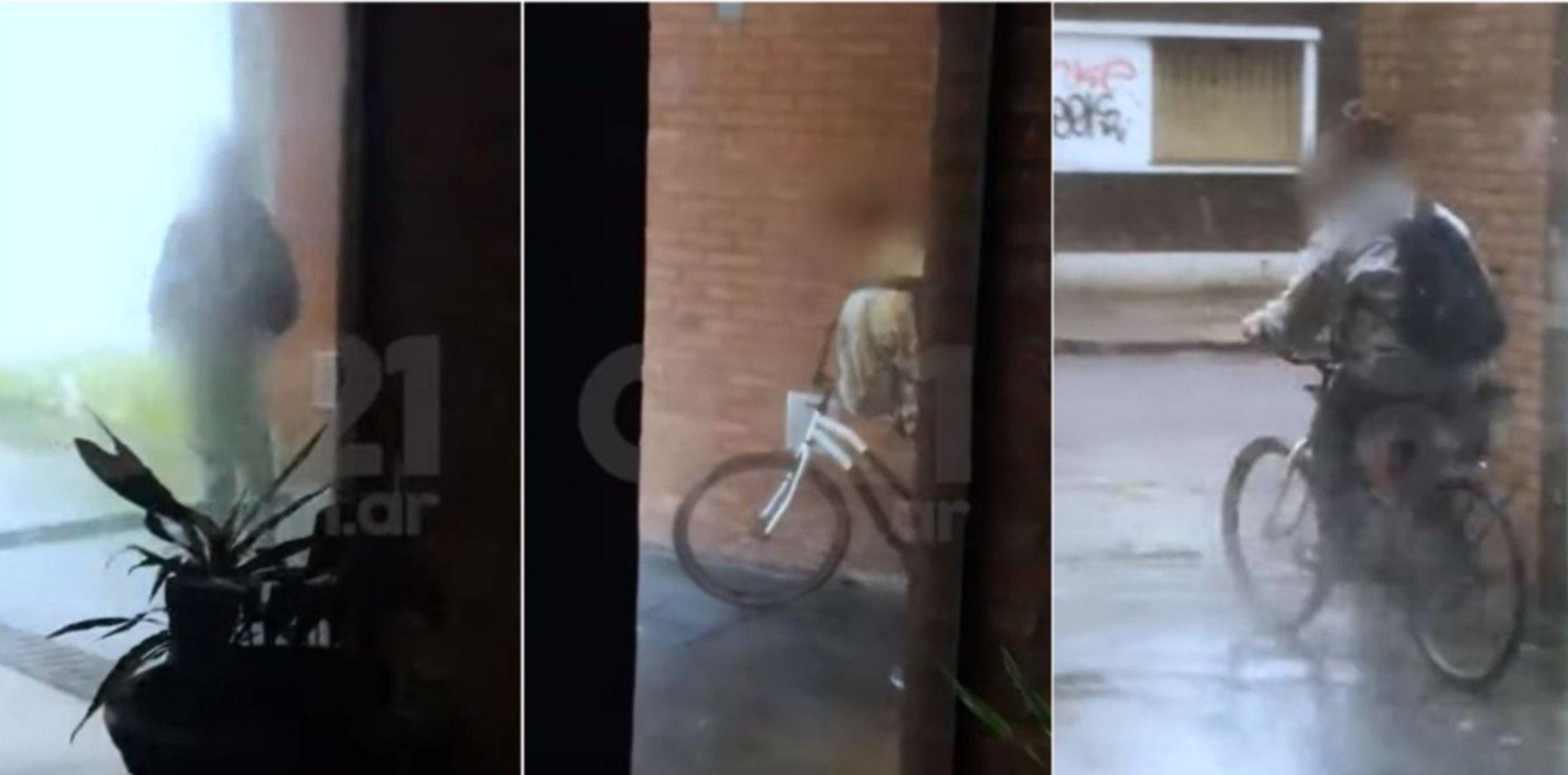 VIDEO: Un acosador sexual puso en alerta a las vecinas de 3 y 60