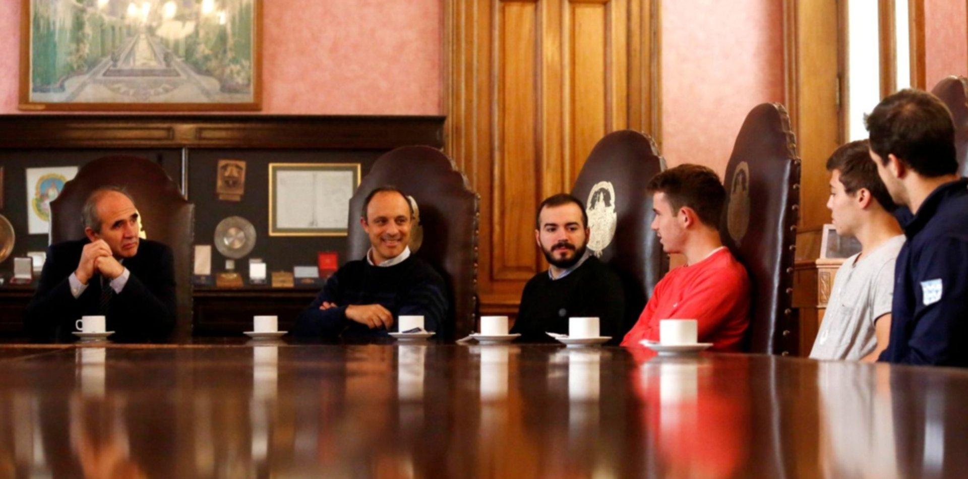 La UNLP despidió a los deportistas que competirán en el Mundial Universitario de Italia