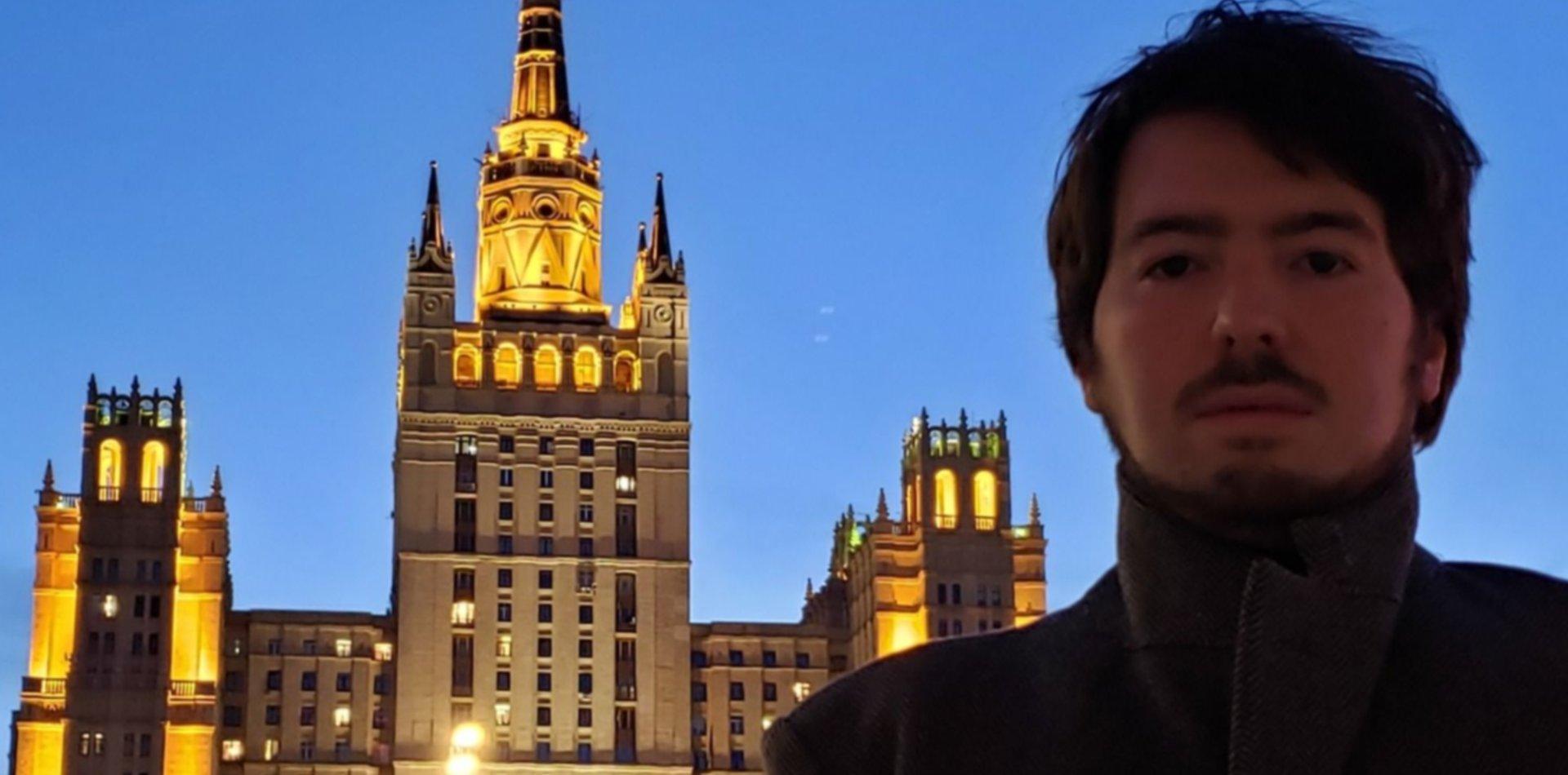 Nicolás Isasi brilló en Rusia: está entre los diez jóvenes directores de ópera del mundo