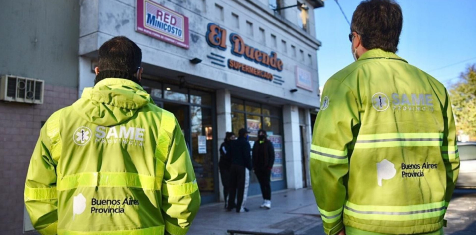 VIDEO: Así clausuraron un supermercado en La Plata tras un caso de coronavirus