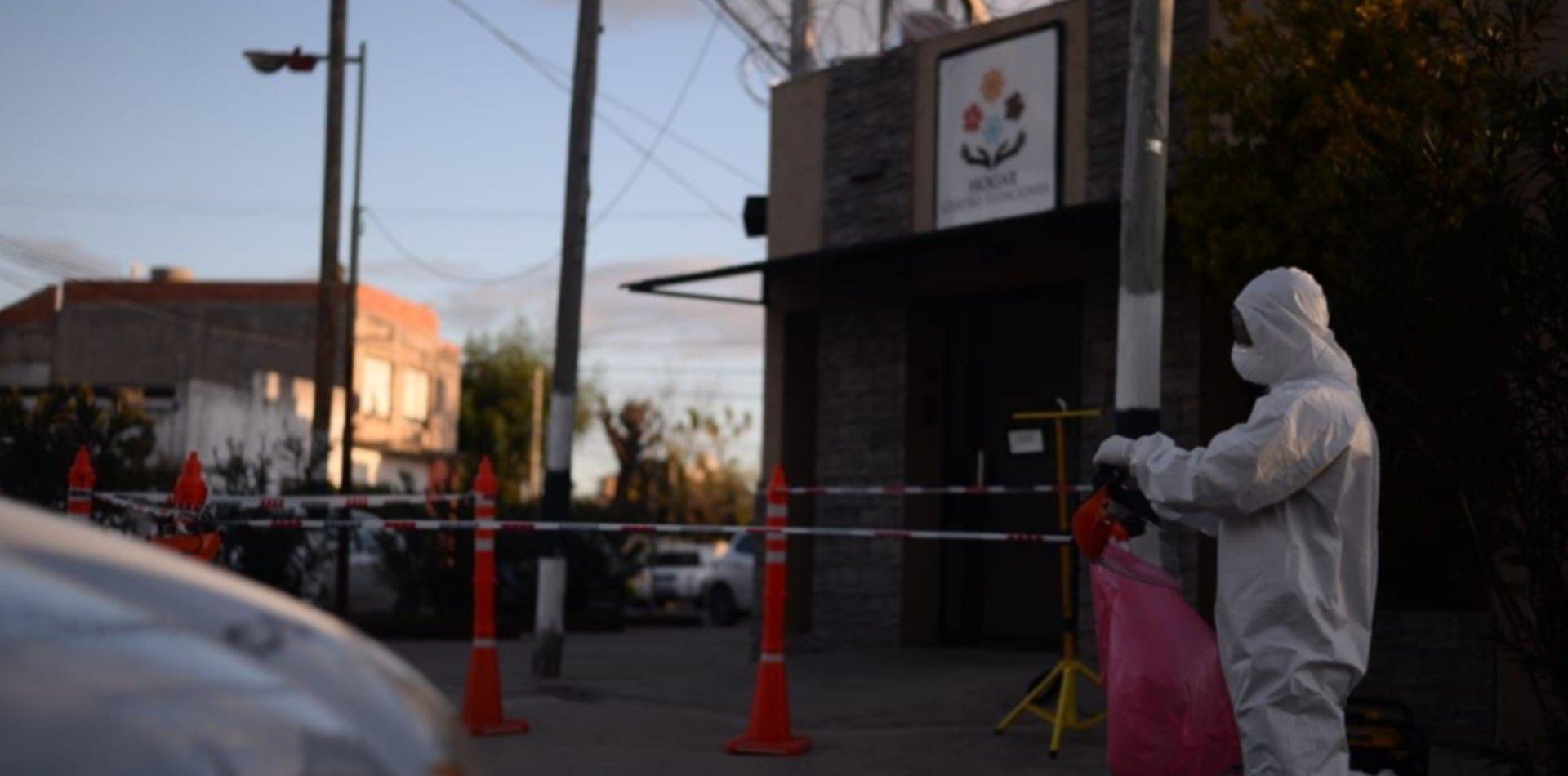 VIDEO: Así fueron los testeos en el geriátrico de La Plata donde hubo casos de coronavirus