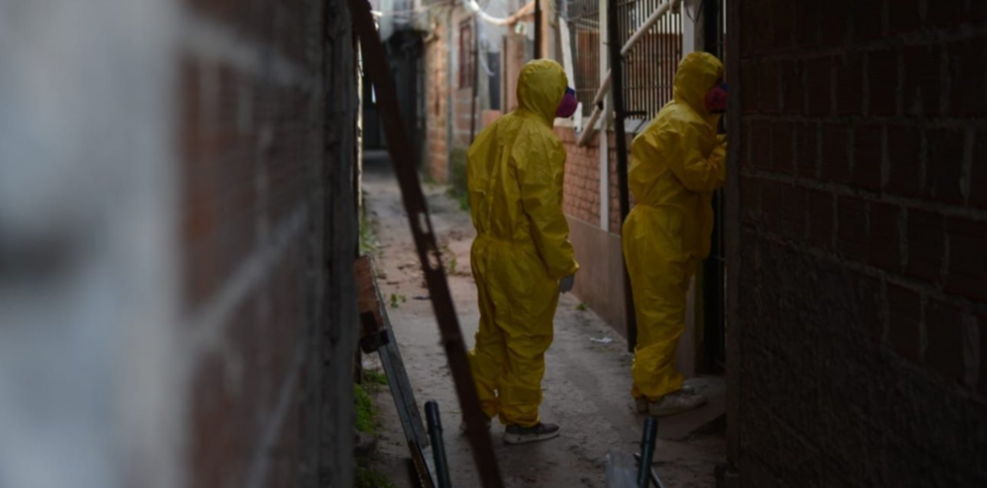 Se dispararon los contagios en el barrio Cabezas y no descartan aislarlo por completo