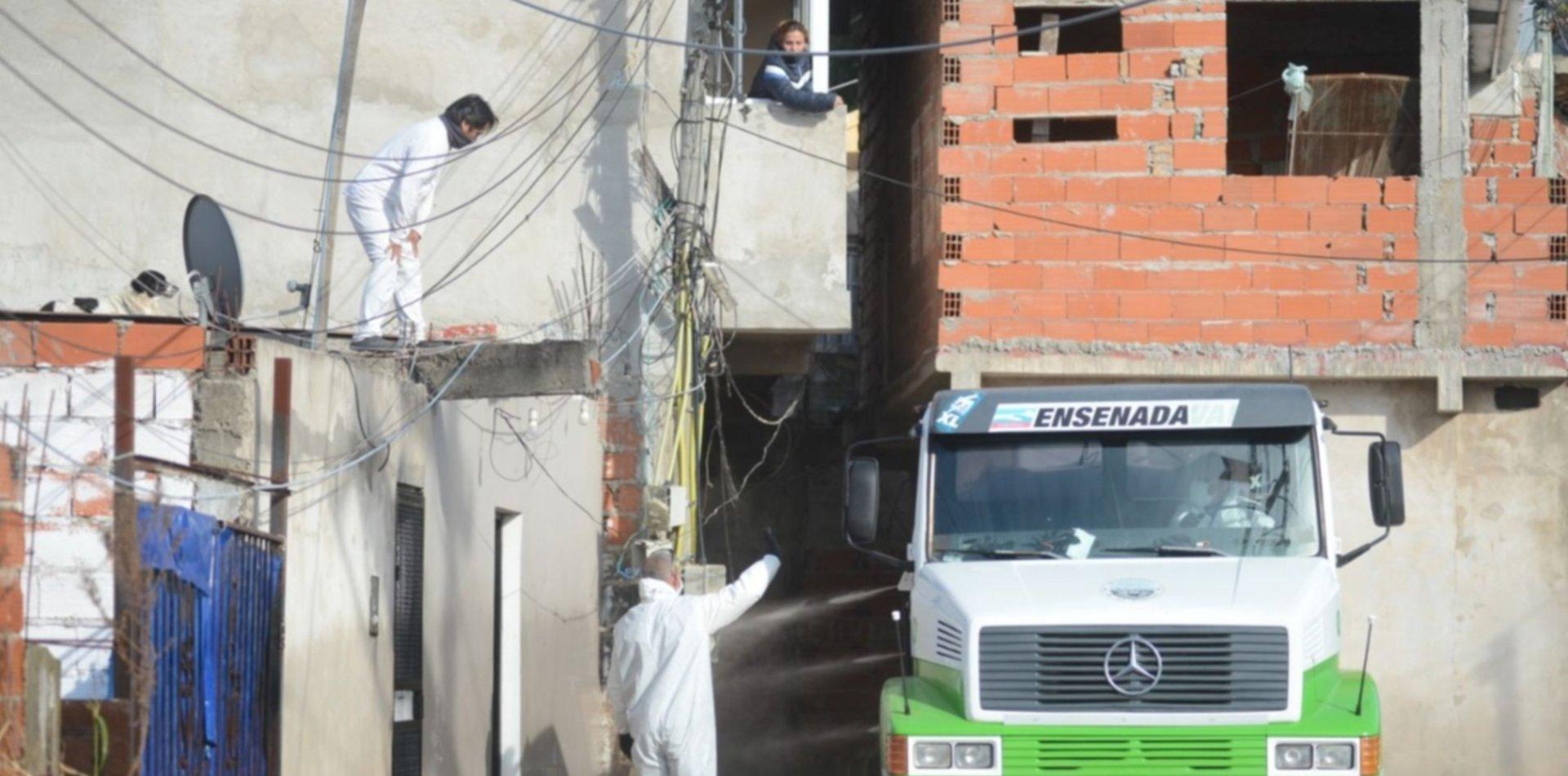 Aislan una parte del barrio José Luis Cabezas por el brote de coronavirus