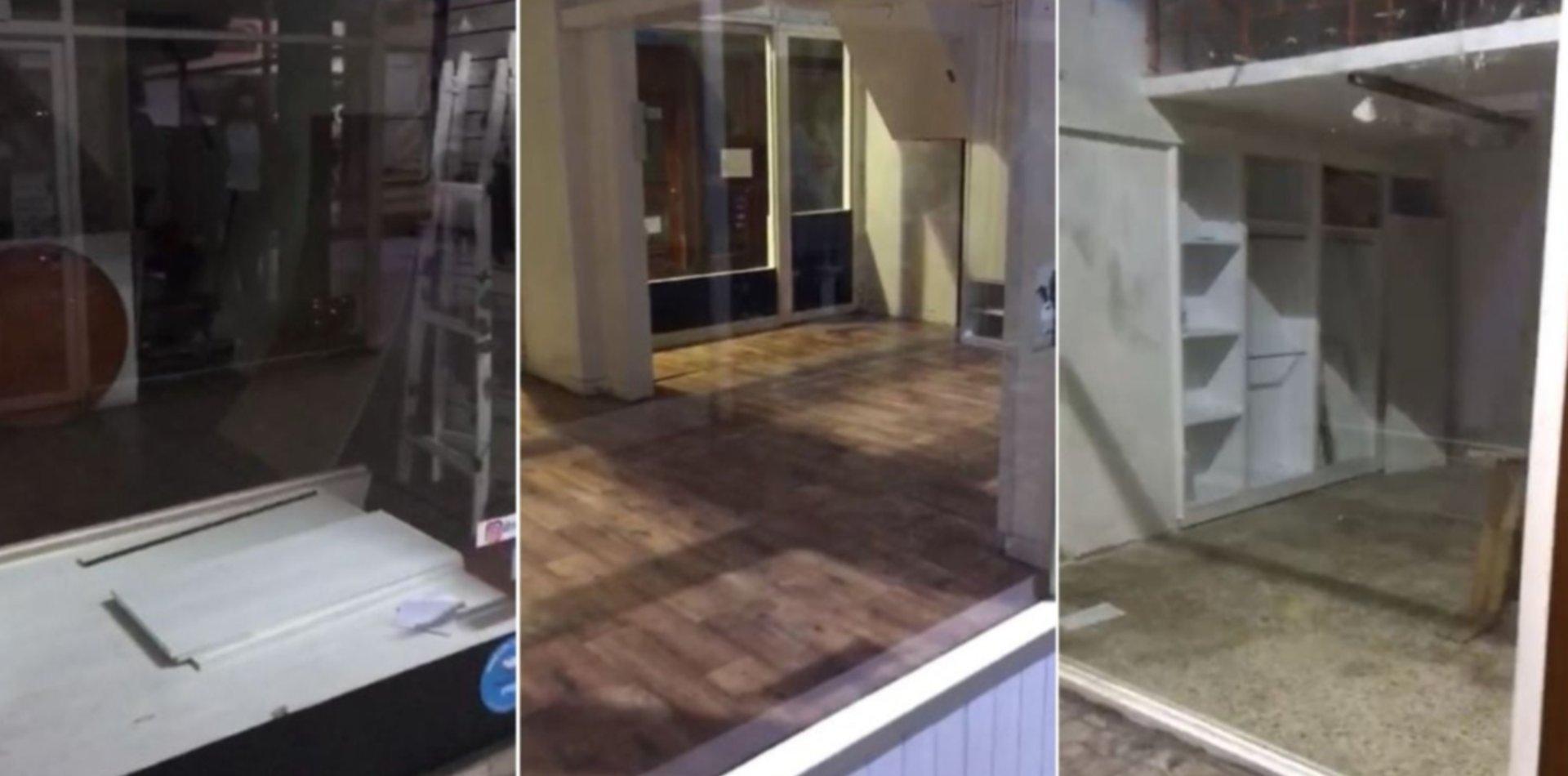 VIDEO: Cerraron doce locales y la Galería Géminix casi quedó vacía por el coronavirus