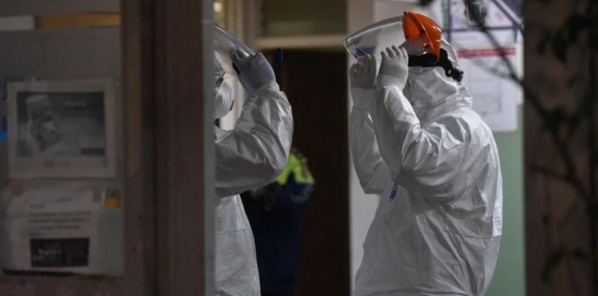 Una policía de La Plata se contagió de coronavirus y tuvieron que desinfectar la comisaría
