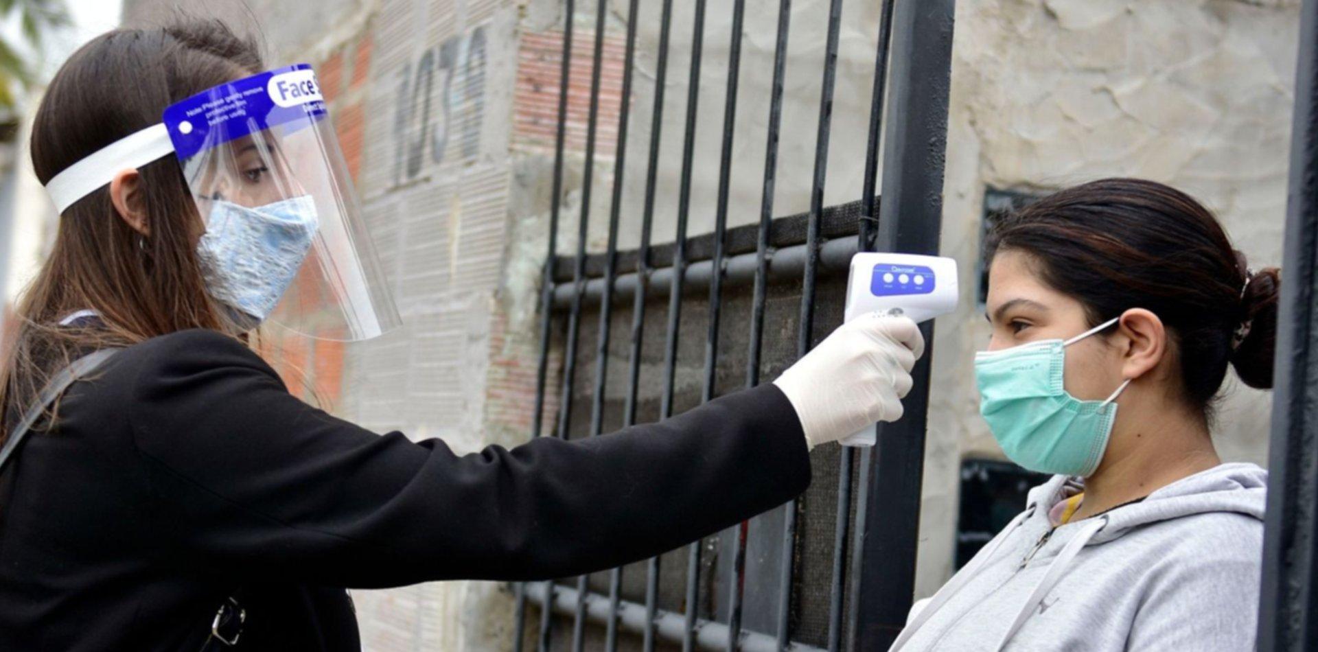 Confirman 98 nuevos contagios en La Plata y una nueva muerte por coronavirus