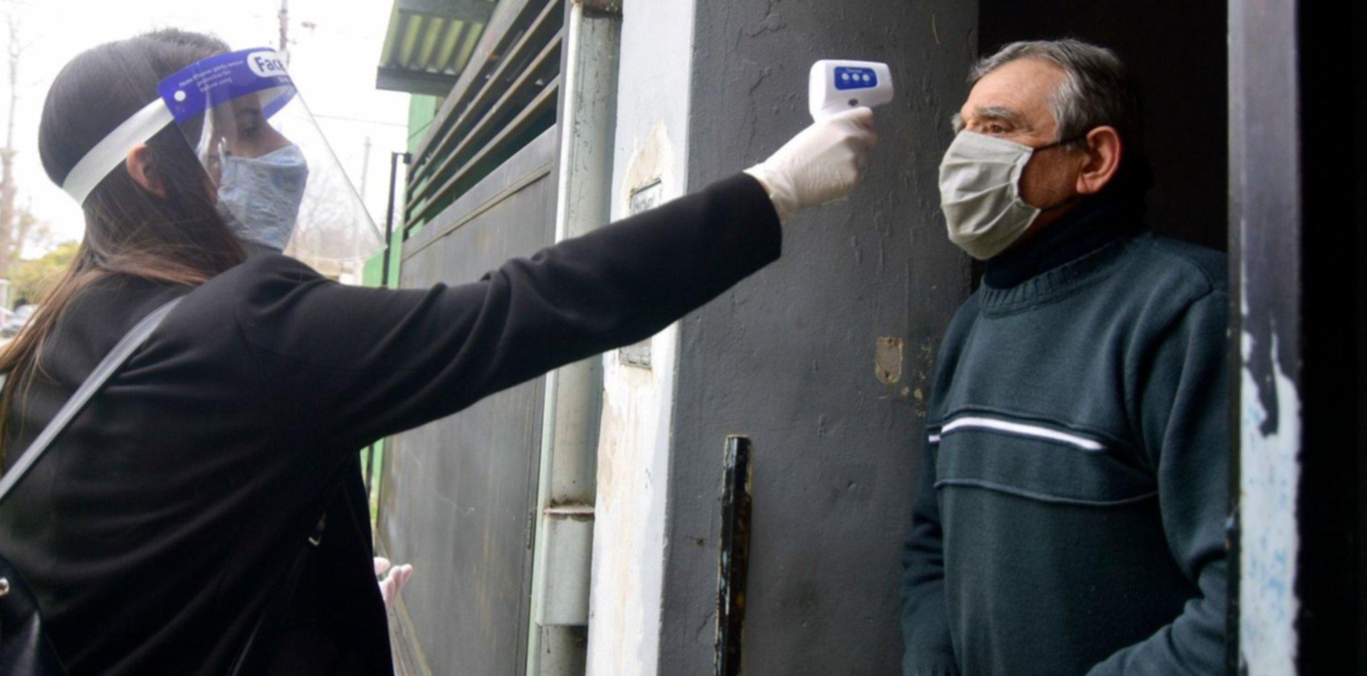 Confirman 2.744 casos de coronavirus y hay un nuevo récord de contagios en Argentina