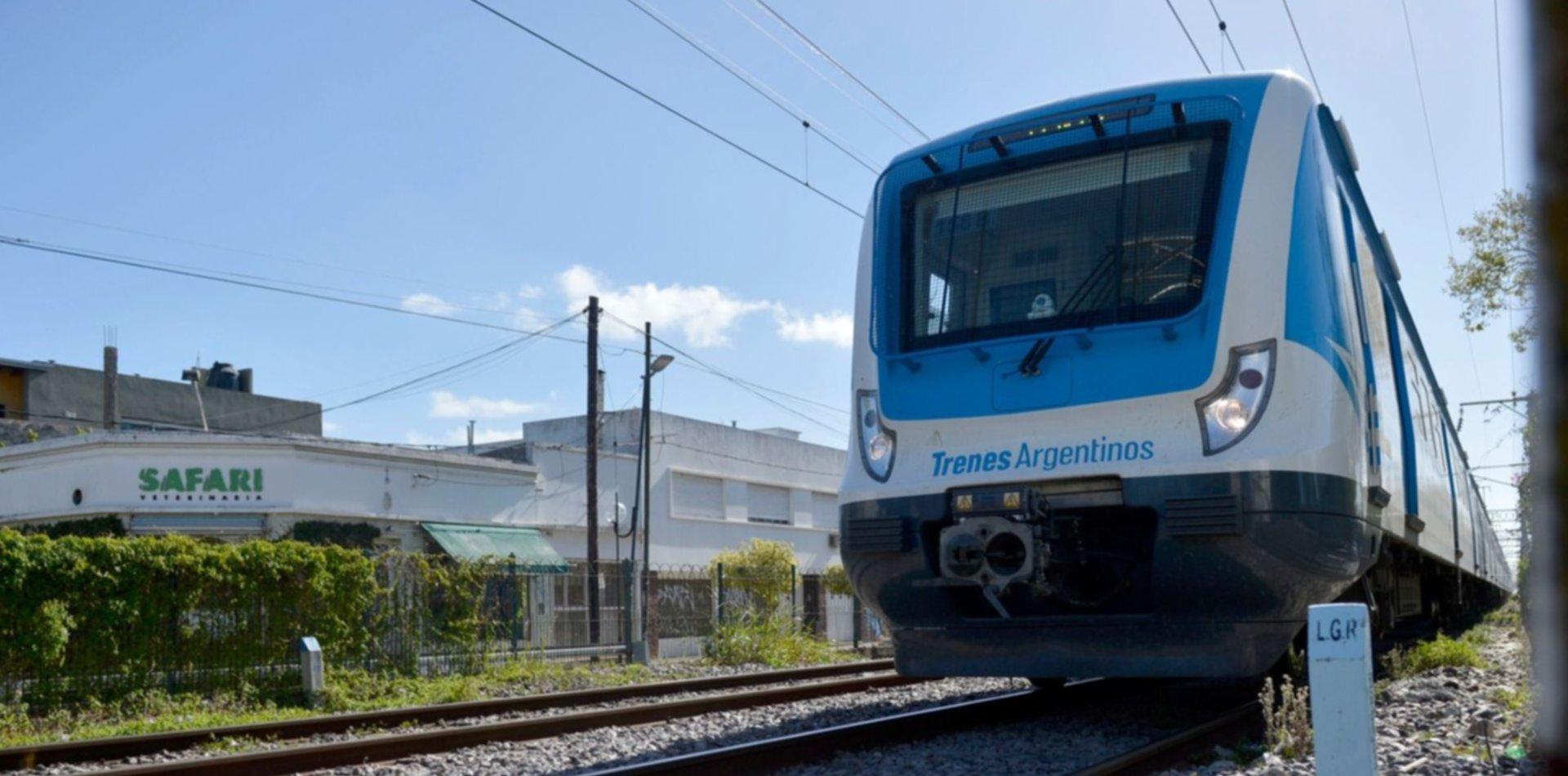 Una formación del tren Roca estuvo a punto de chocar a un nene que caminaba por las vías
