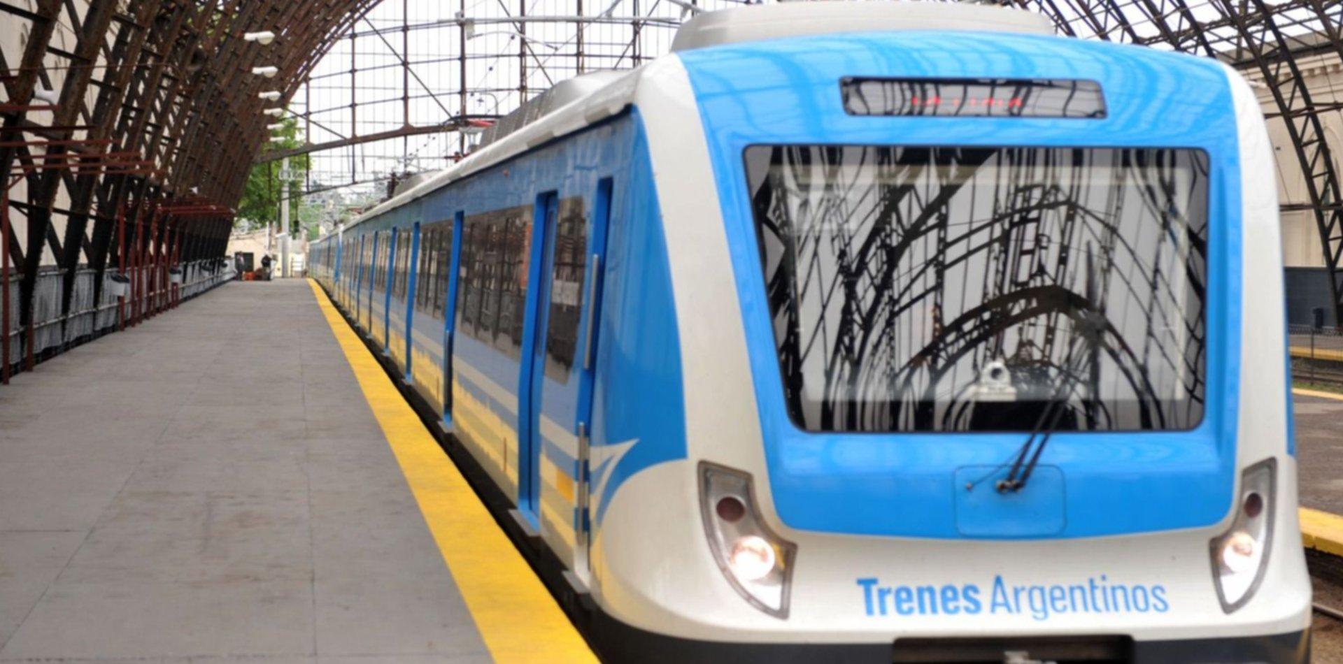 En el tren Roca también se deberá reservar asiento para viajar