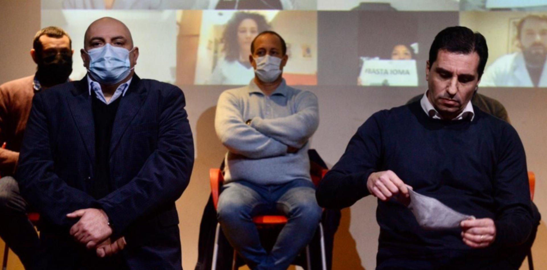 Caravana y atención gratuita: los médicos en pie de guerra contra el IOMA