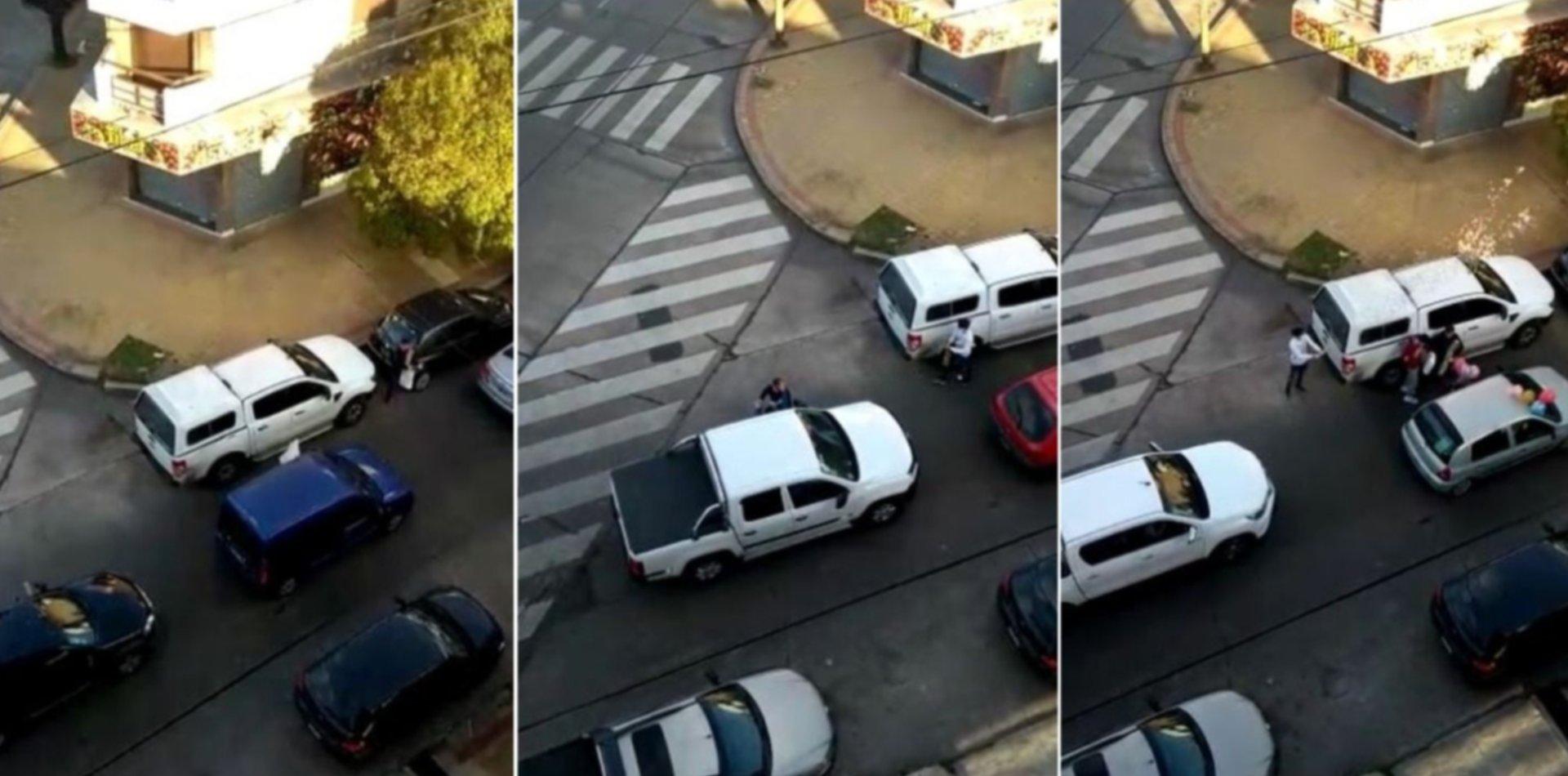 VIDEO: Un platense cumplió años y se lo festejaron con una caravana en plena cuarentena