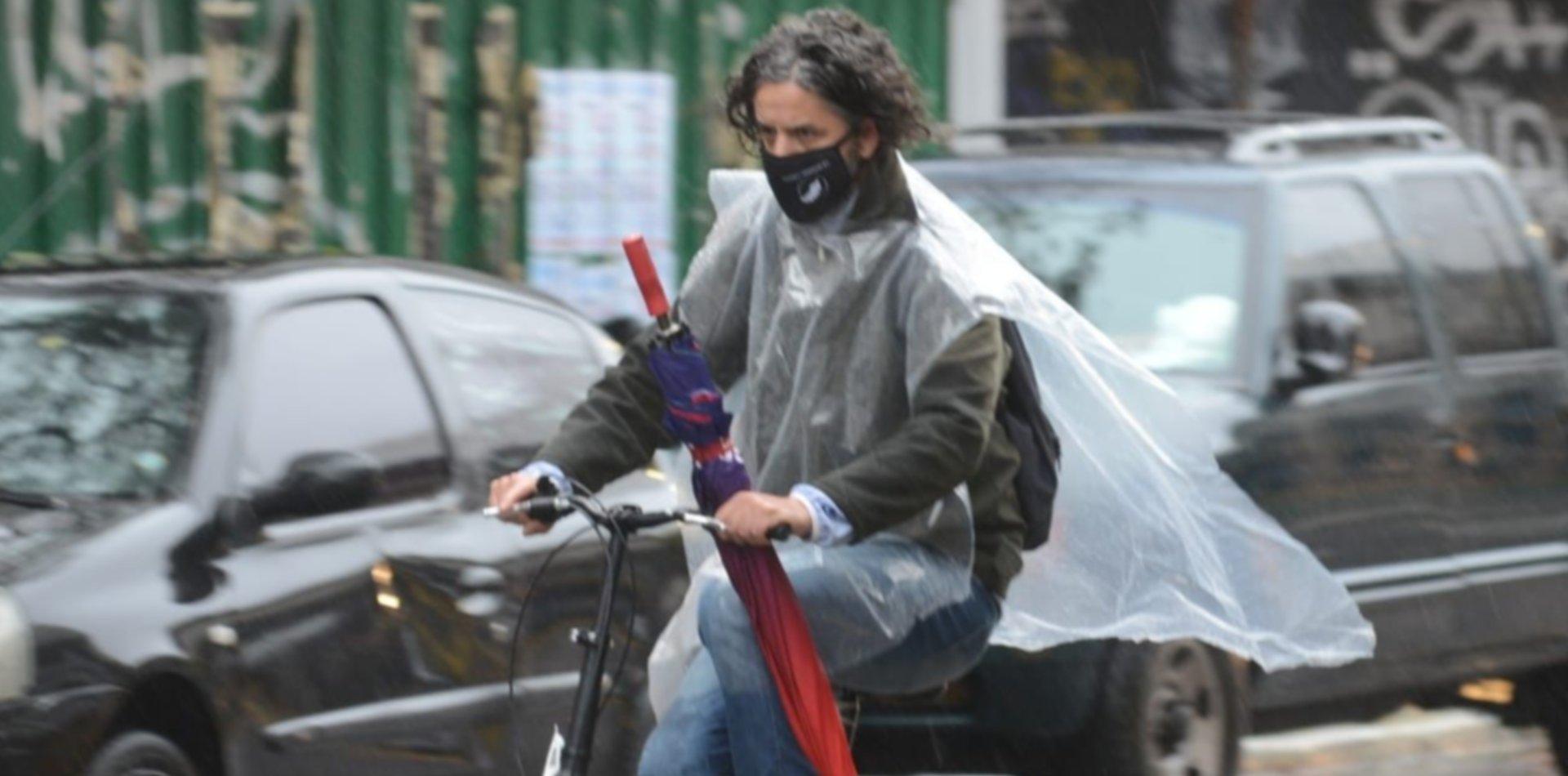 Jueves con lloviznas en la previa de una nueva ola polar en La Plata