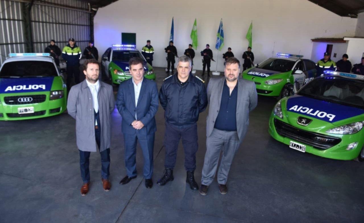 Los patrulleros VIP fueron presentados en julio de 2018 por el exministro de Seguridad bonaerense, Cristian Ritondo