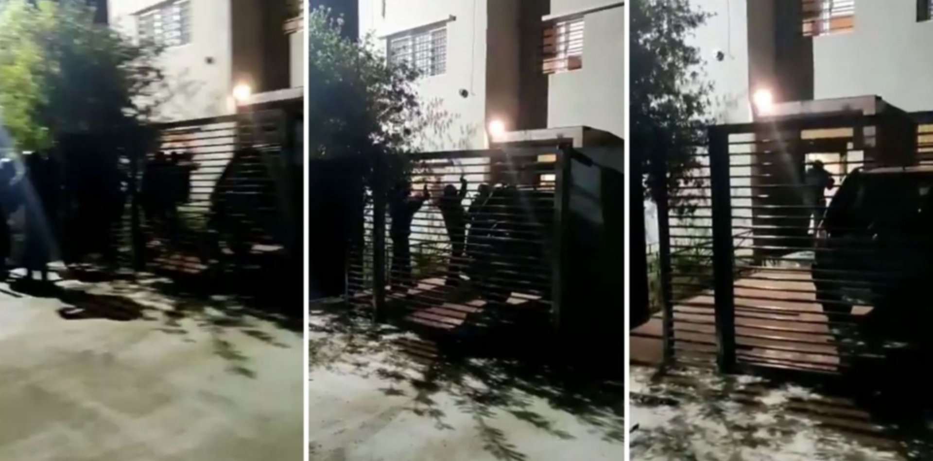 VIDEO: Así fue el increíble allanamiento por error en la casa de un funcionario
