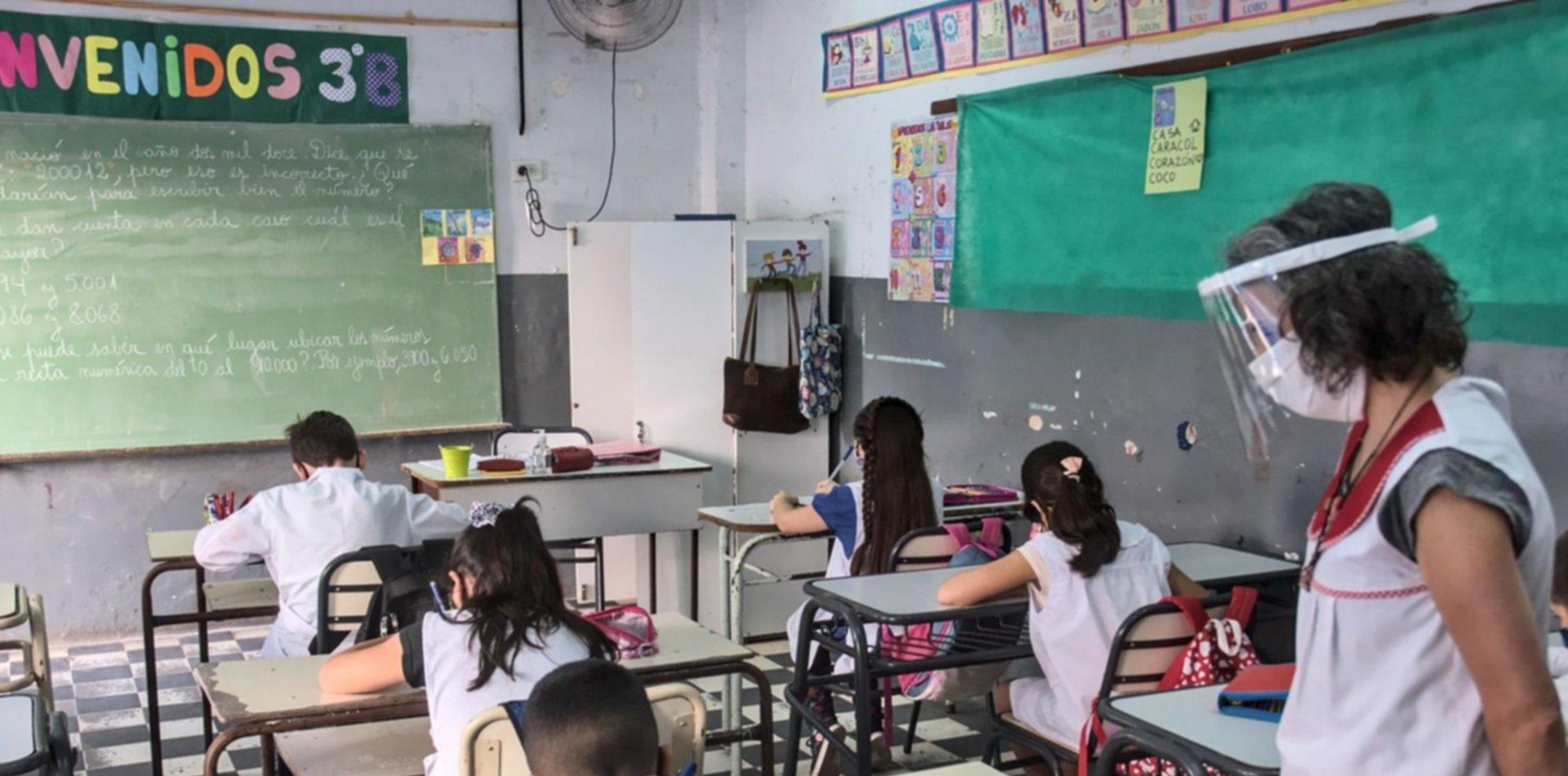 Fecha, medidores de dióxido de carbono y testeos: cómo sería la vuelta a clase en La Plata