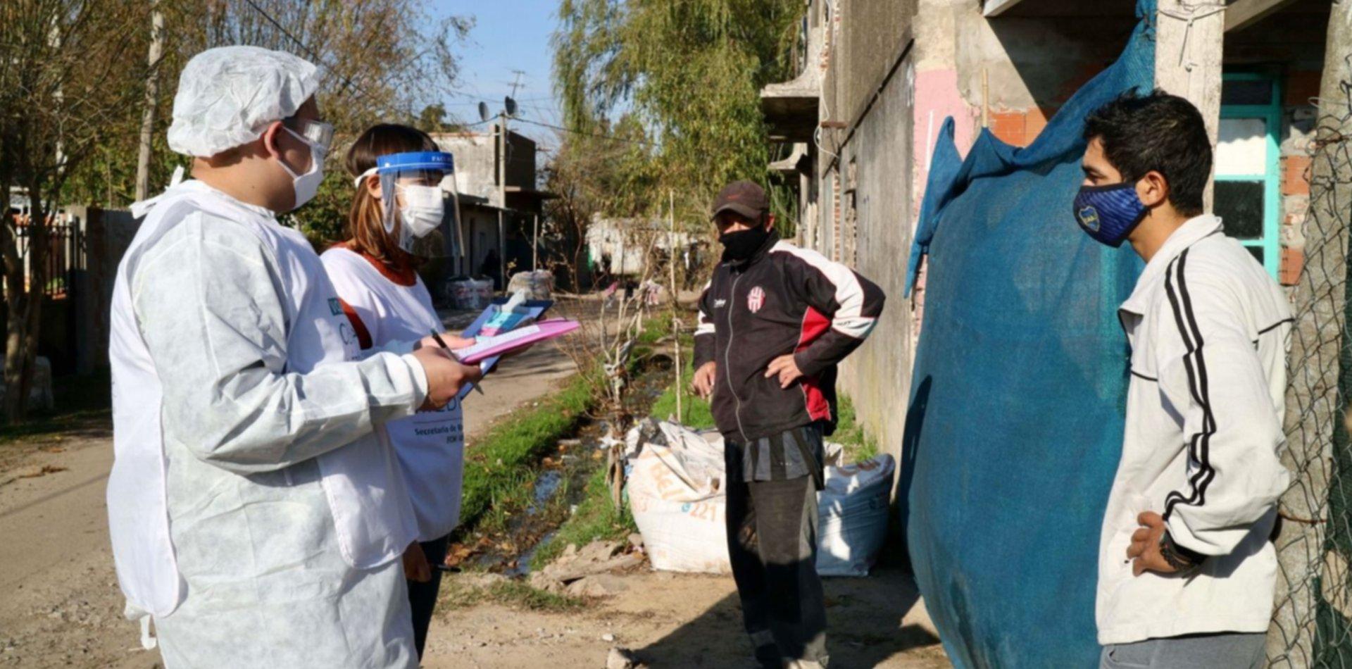 Por segunda semana consecutiva cayeron los contagios de coronavirus en La Plata