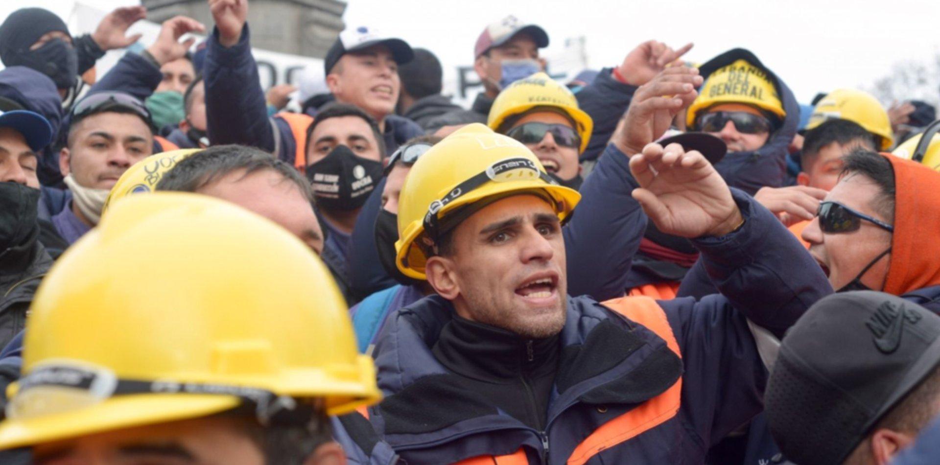 Los dos sectores de la UOCRA se movilizarán en La Plata