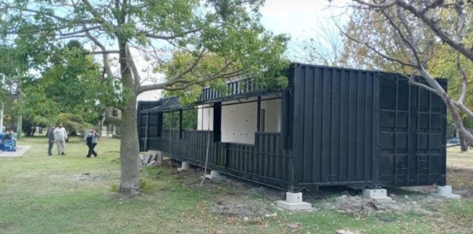 Suspenden la instalación de un patio de comidas en el Parque Cívico de Berisso