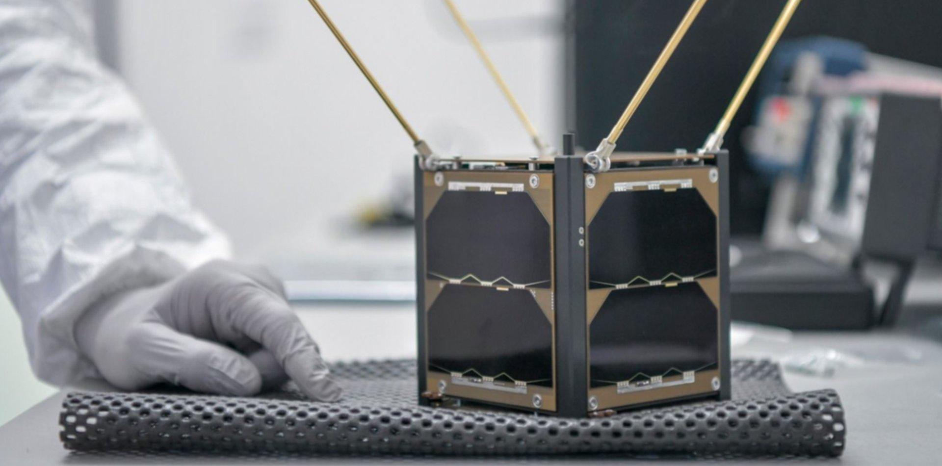 Estudiantes de la UNLP crearon un escudo de protección para un nanosatélite